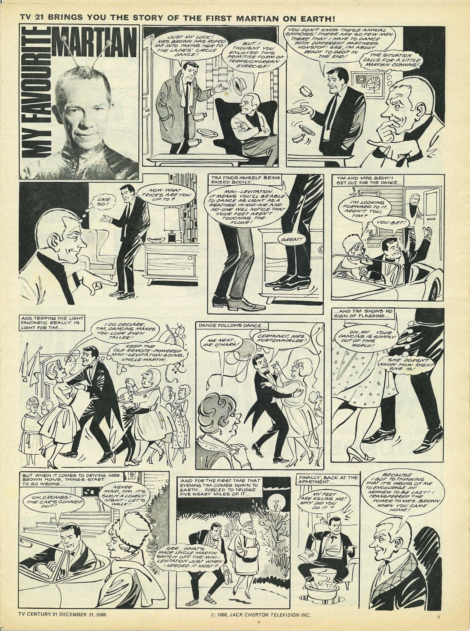 Read online TV Century 21 (TV 21) comic -  Issue #102 - 7