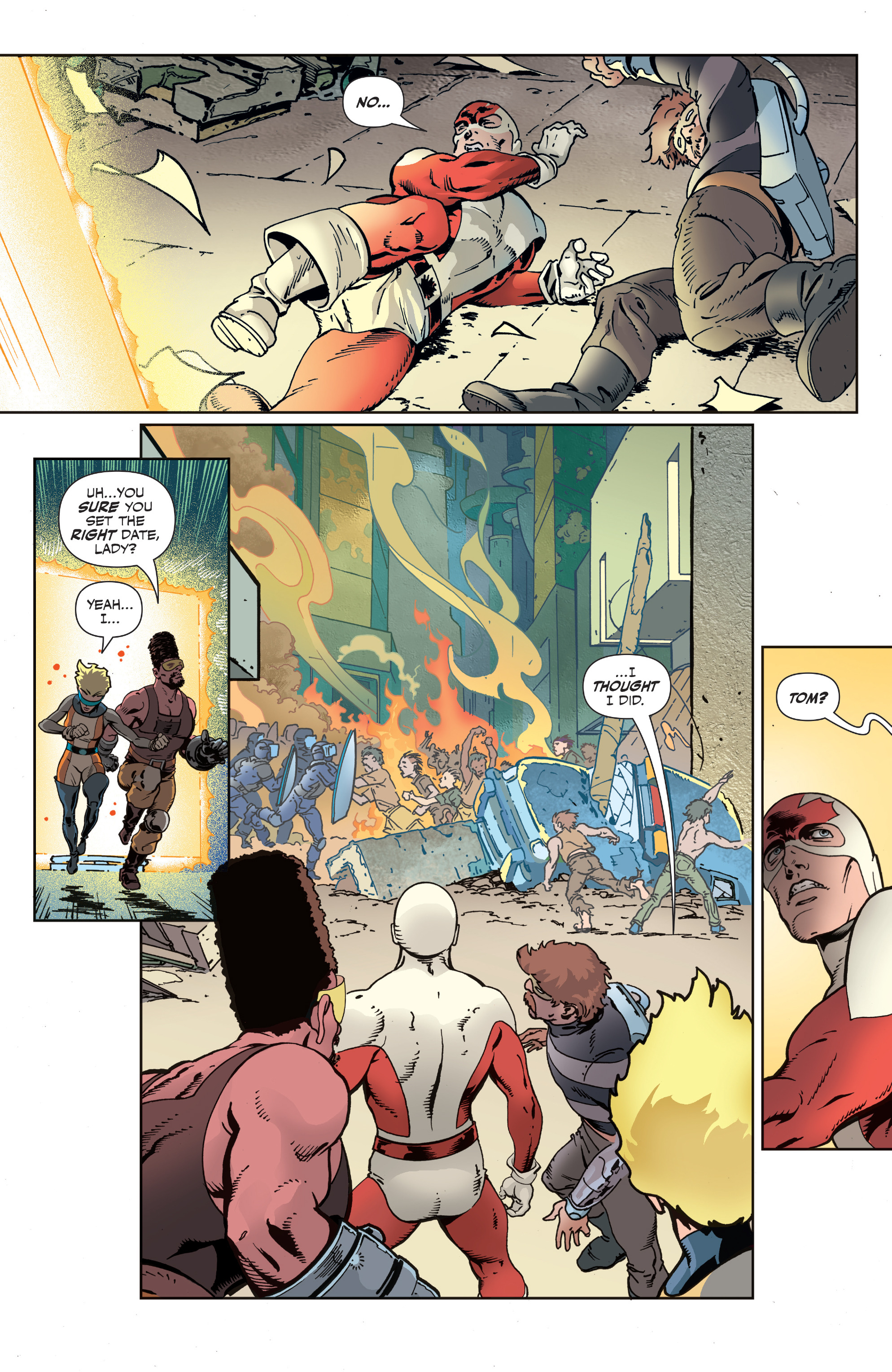 Read online All-New Classic Captain Canuck comic -  Issue #2 - 21