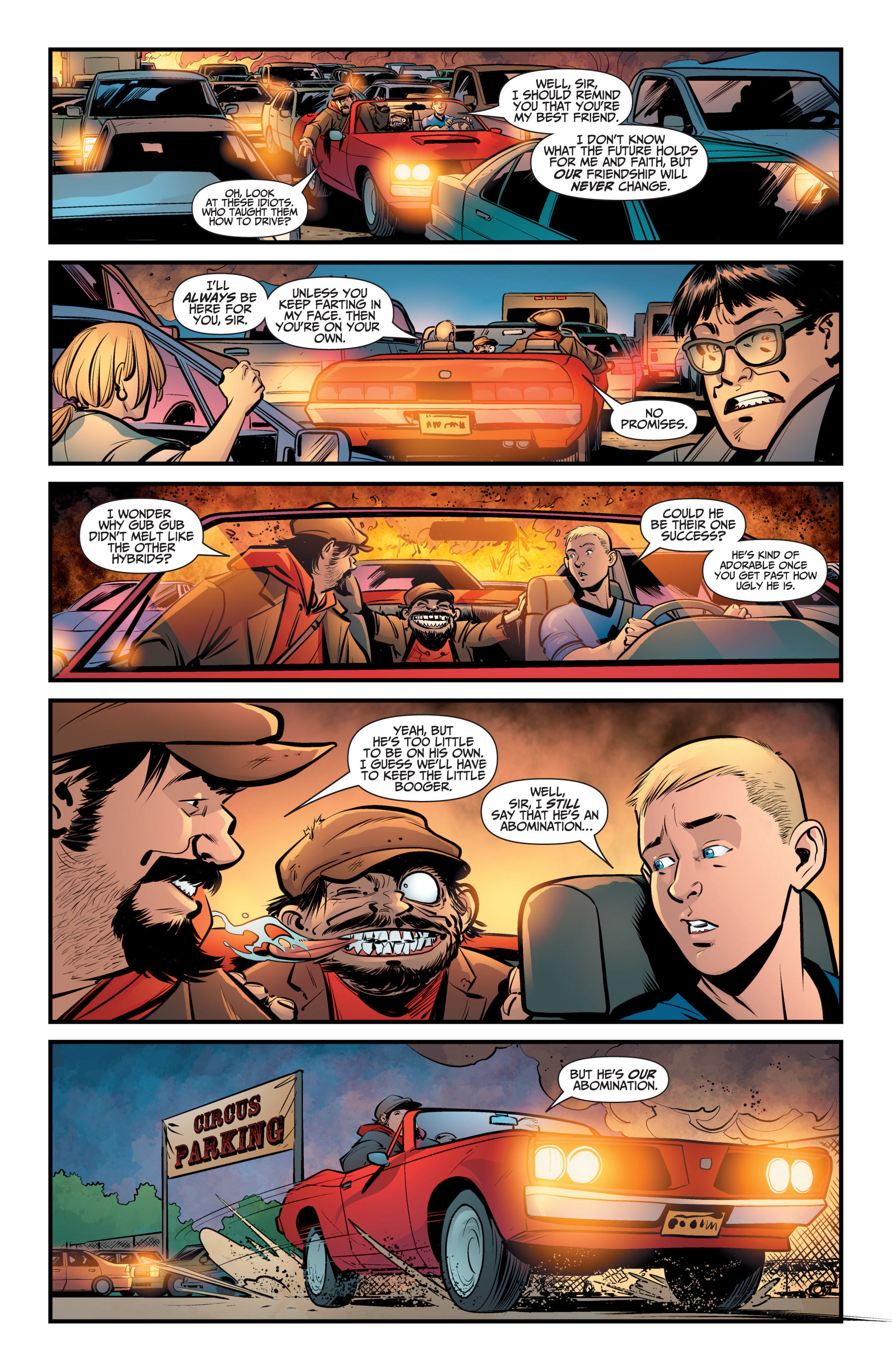 Read online A&A: The Adventures of Archer & Armstrong comic -  Issue #8 - 17