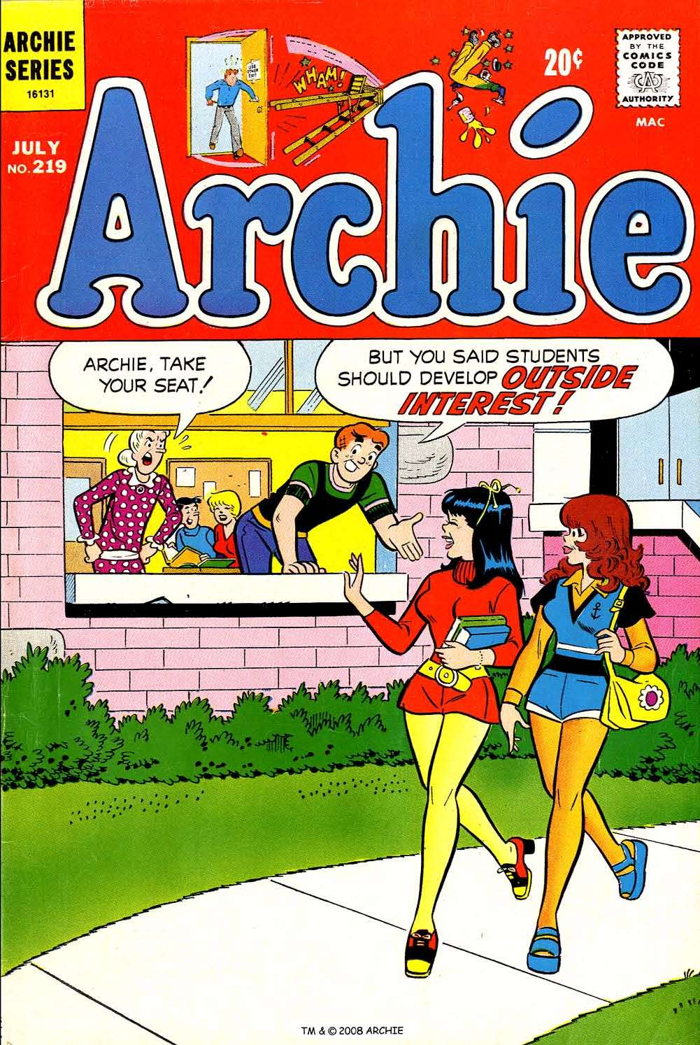 Read online Archie (1960) comic -  Issue #219 - 1