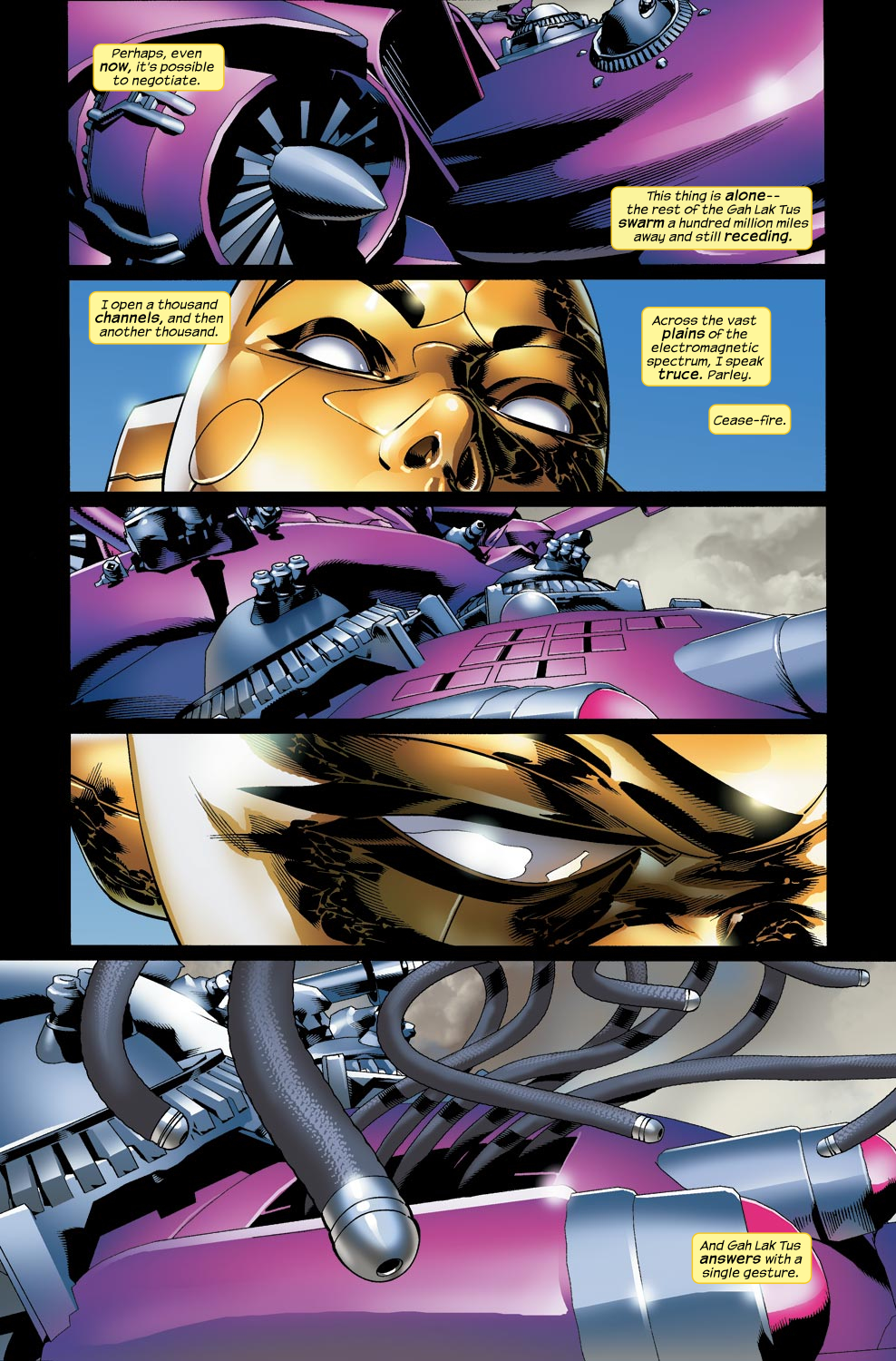Read online Ultimate Vision comic -  Issue #4 - 4