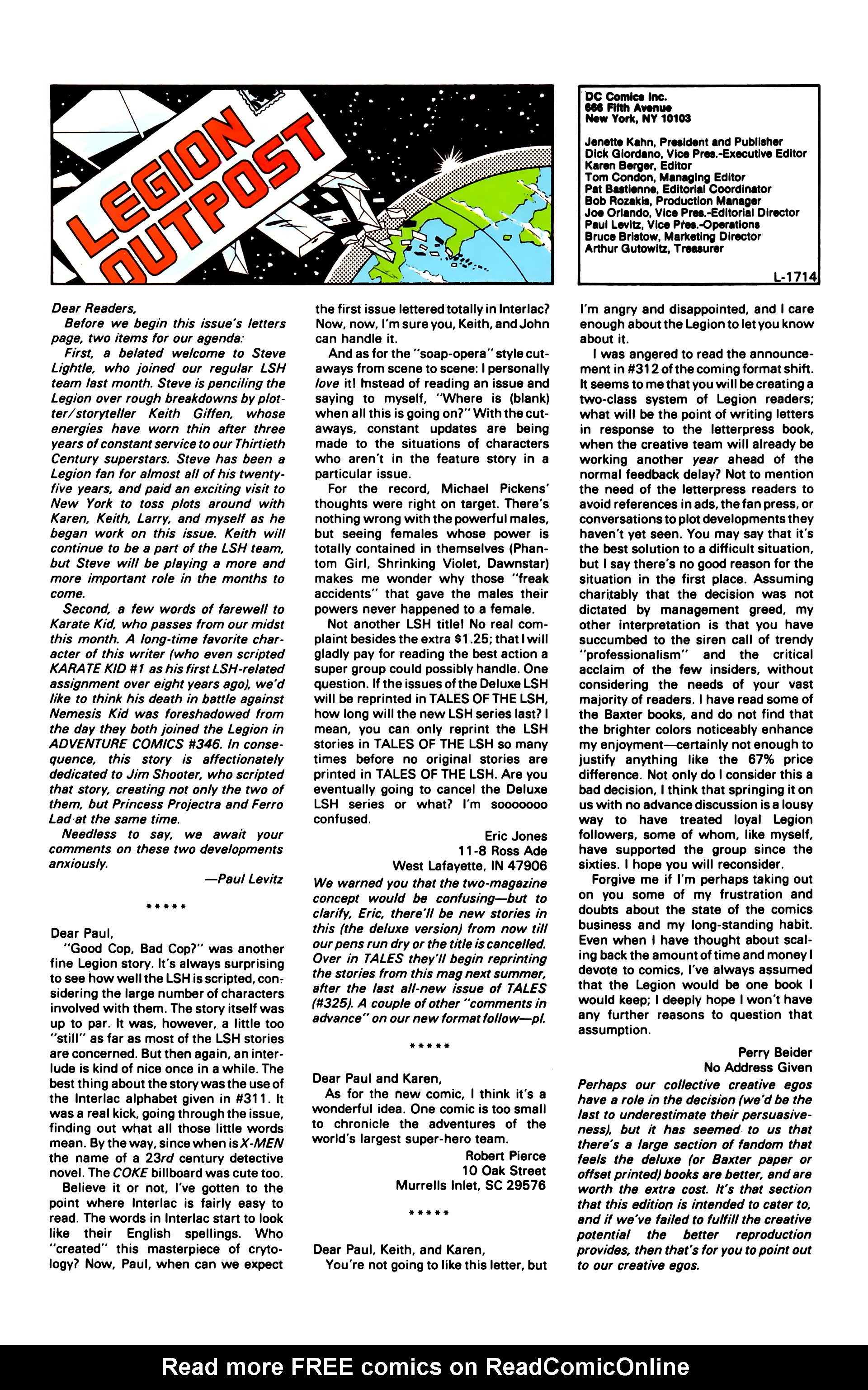 Legion of Super-Heroes (1984) 4 Page 25