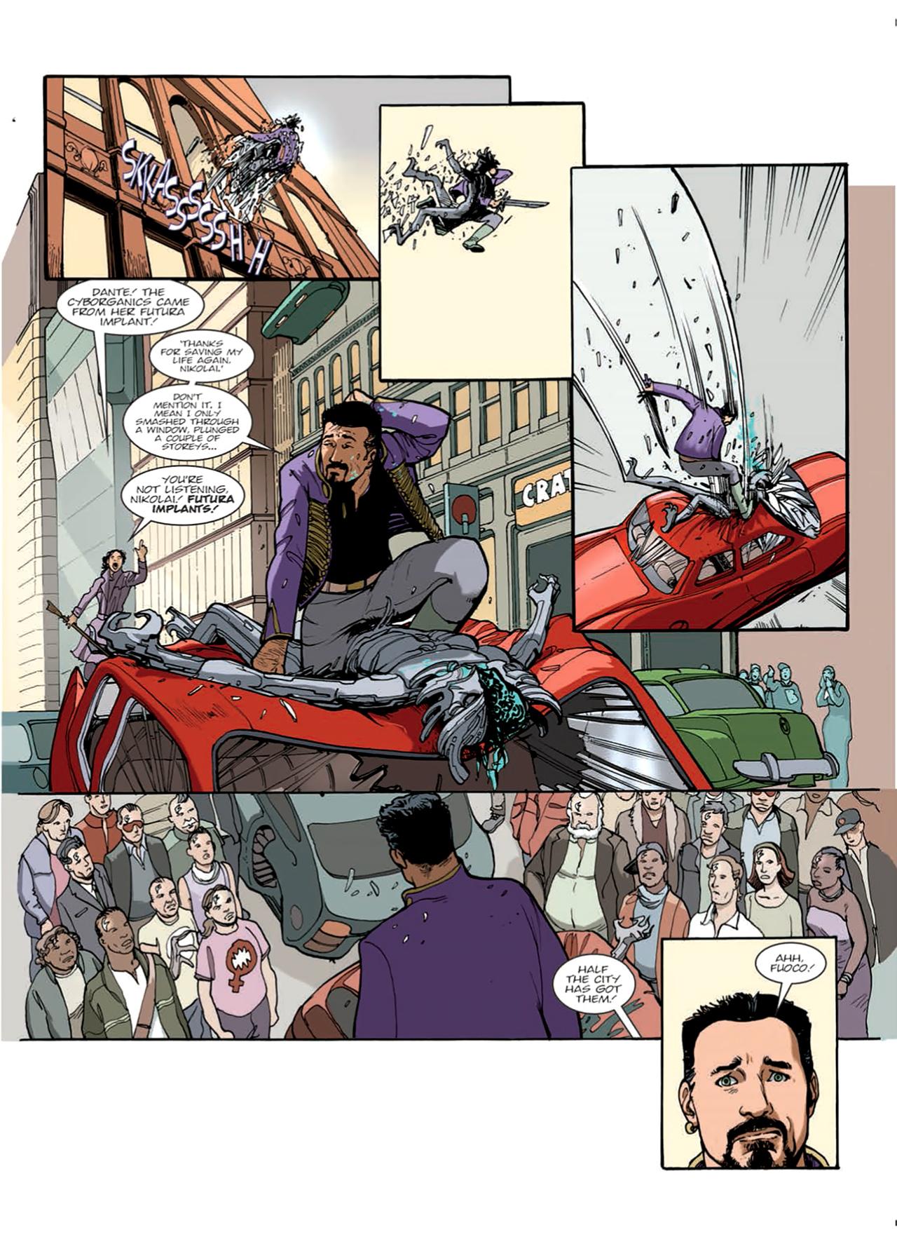 Read online Nikolai Dante comic -  Issue # TPB 9 - 47