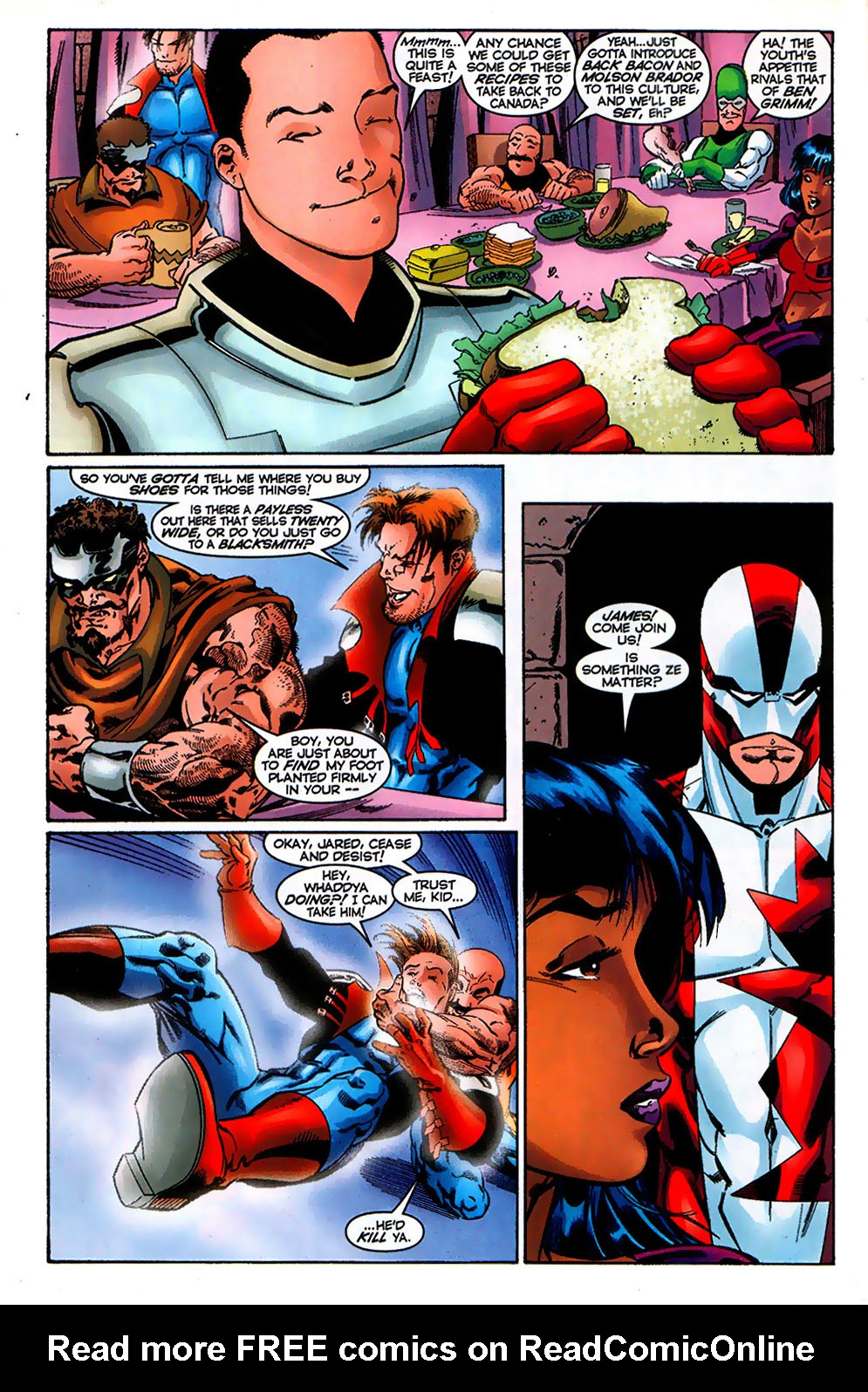 Read online Alpha Flight (1997) comic -  Issue # _Annual - 39