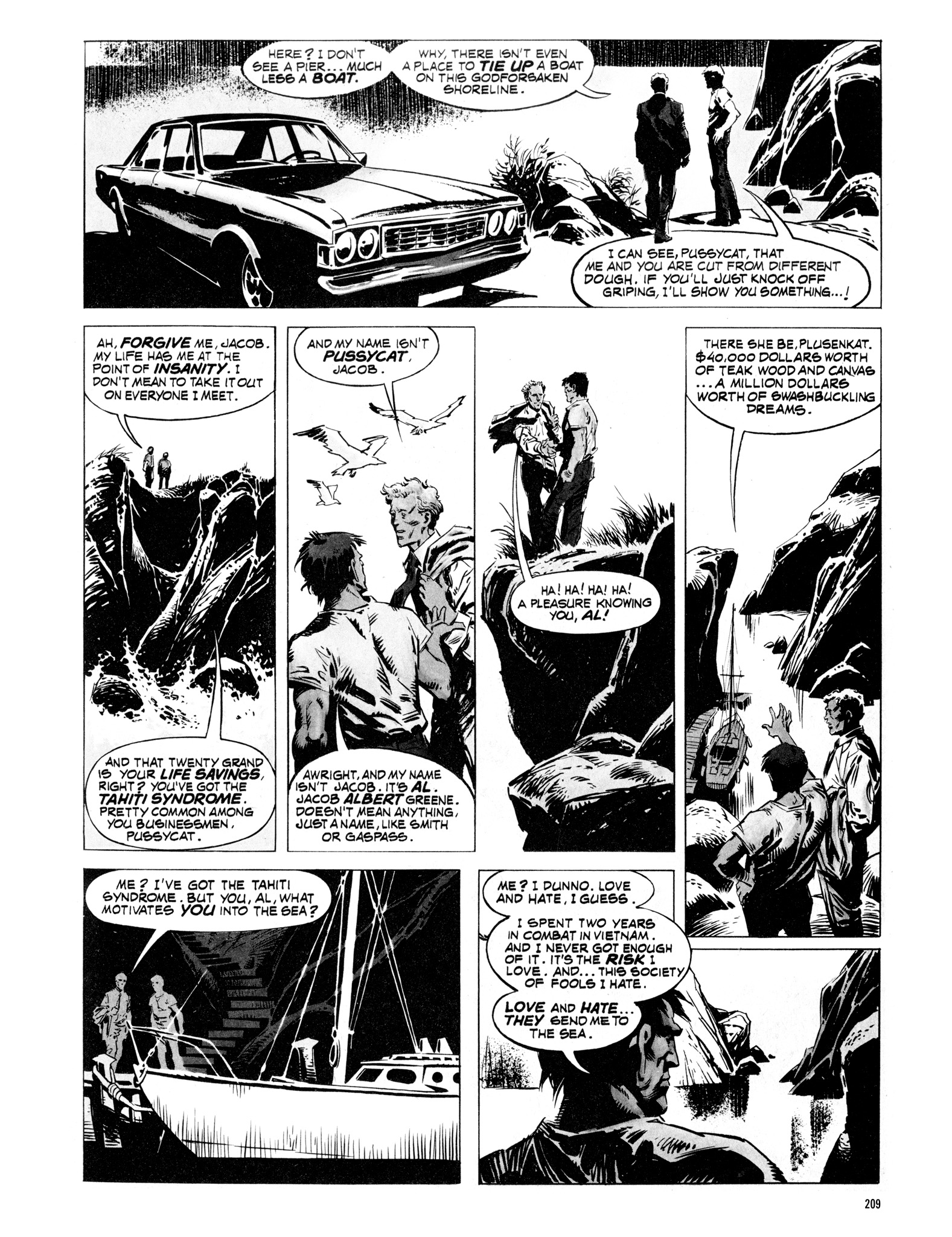 Read online Eerie Archives comic -  Issue # TPB 16 - 210