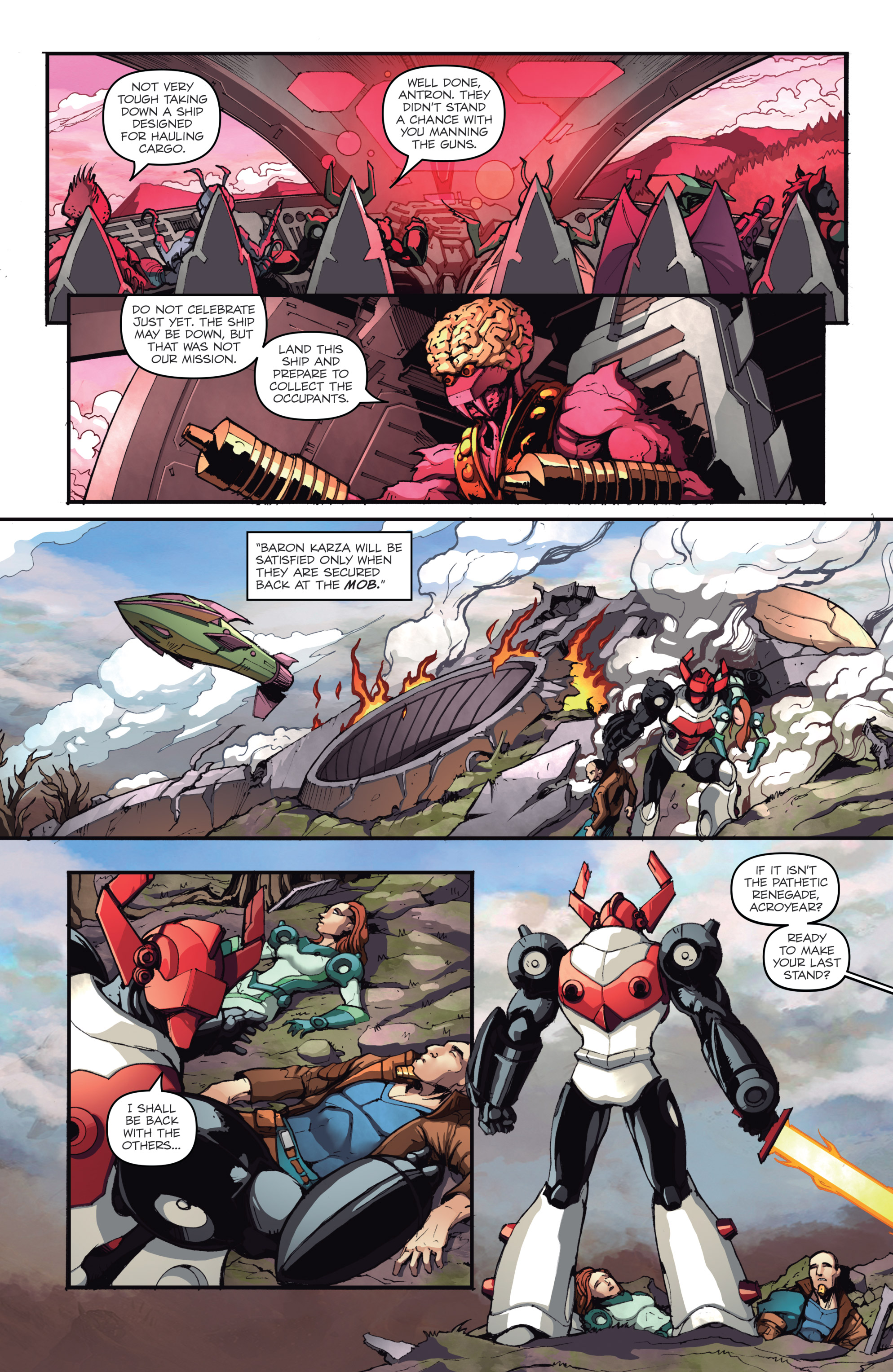 Read online Micronauts: Wrath of Karza comic -  Issue #2 - 10