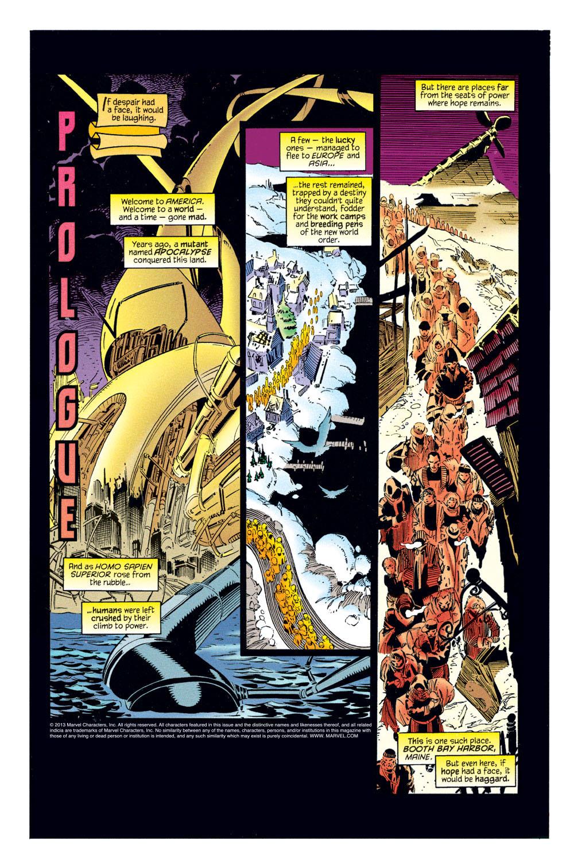 Read online Amazing X-Men (1995) comic -  Issue #1 - 2