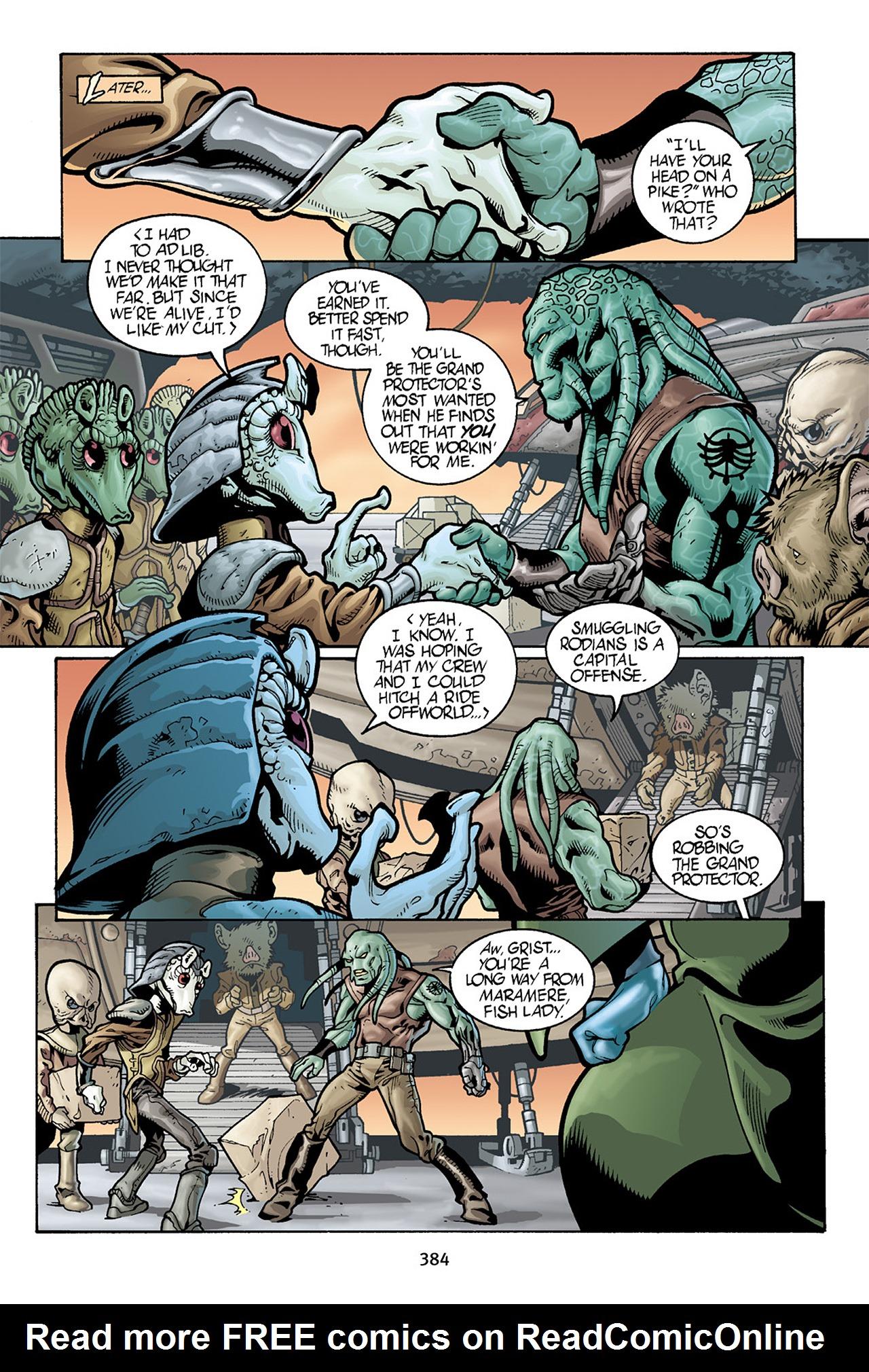 Read online Star Wars Omnibus comic -  Issue # Vol. 10 - 377