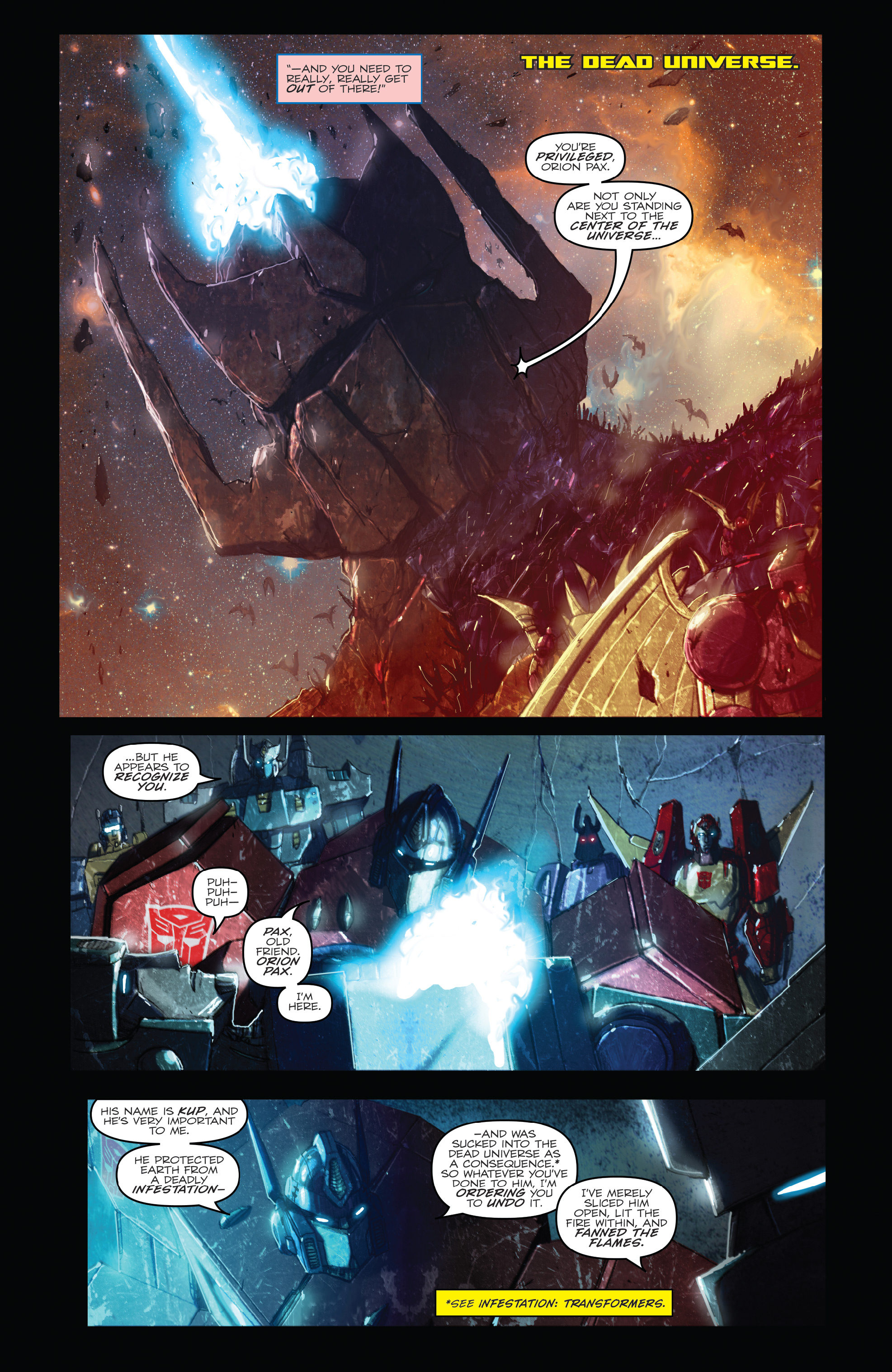 Read online The Transformers: Dark Cybertron Finale comic -  Issue # Full - 12
