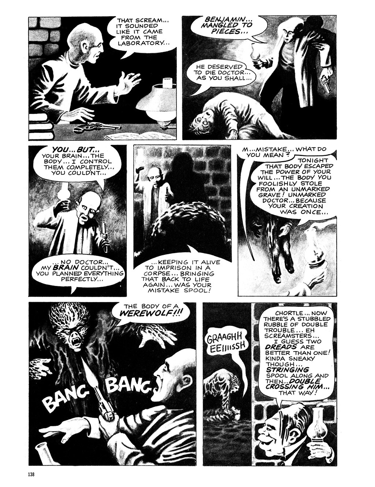 Read online Eerie Archives comic -  Issue # TPB 4 - 139