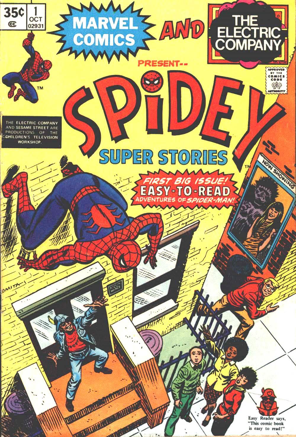 Spidey Super Stories 1 Page 1