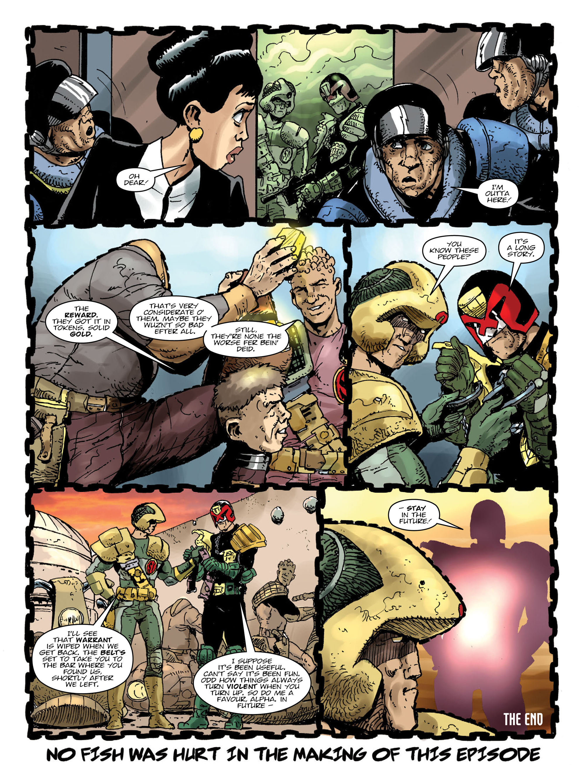 Read online 2000 AD comic -  Issue #2000 - 16