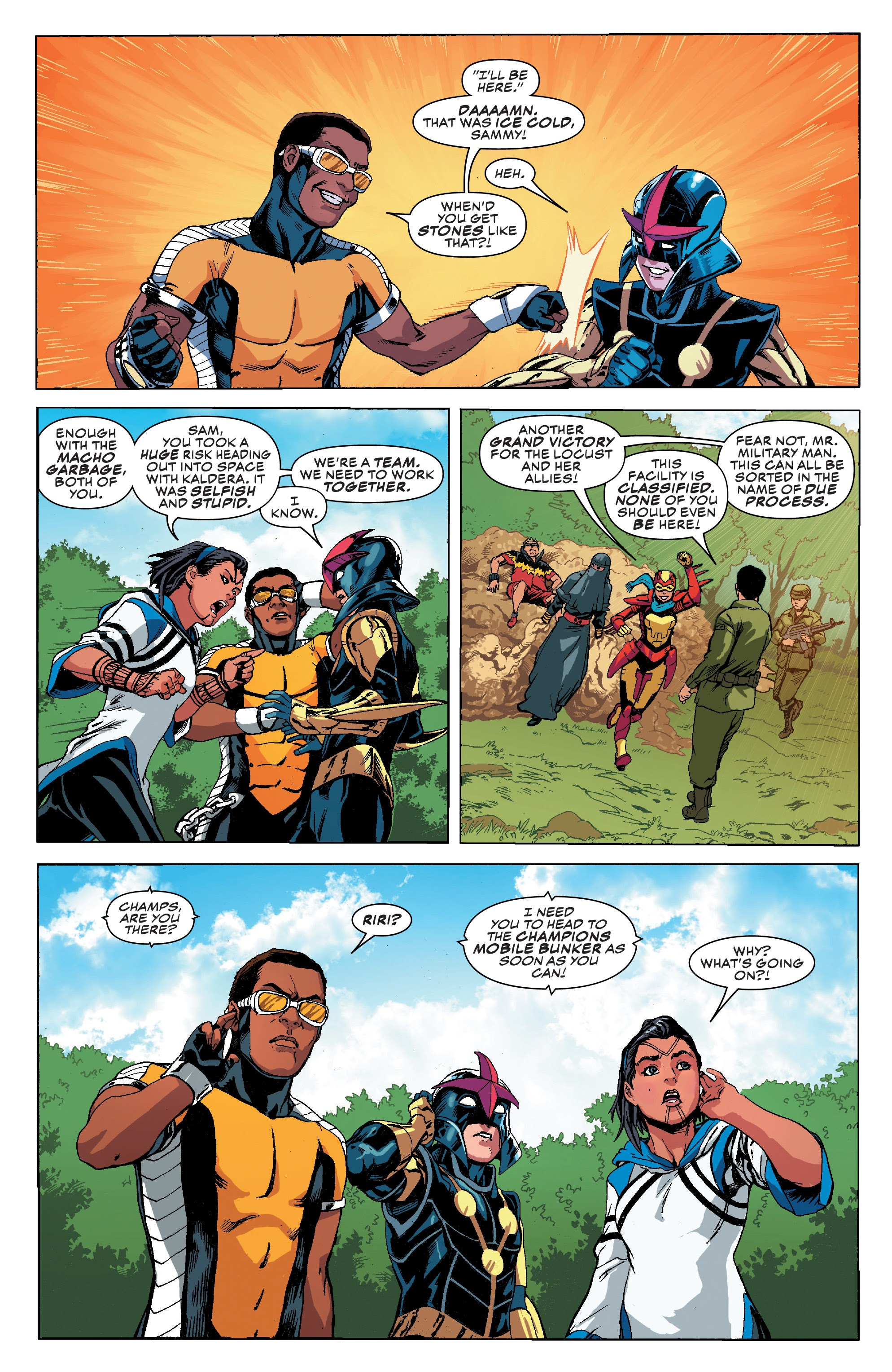Read online Champions (2019) comic -  Issue #8 - 22