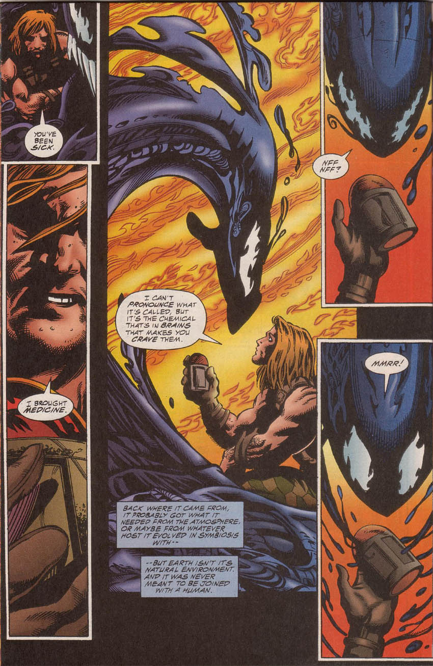 Comic Venom: The Hunger issue 3