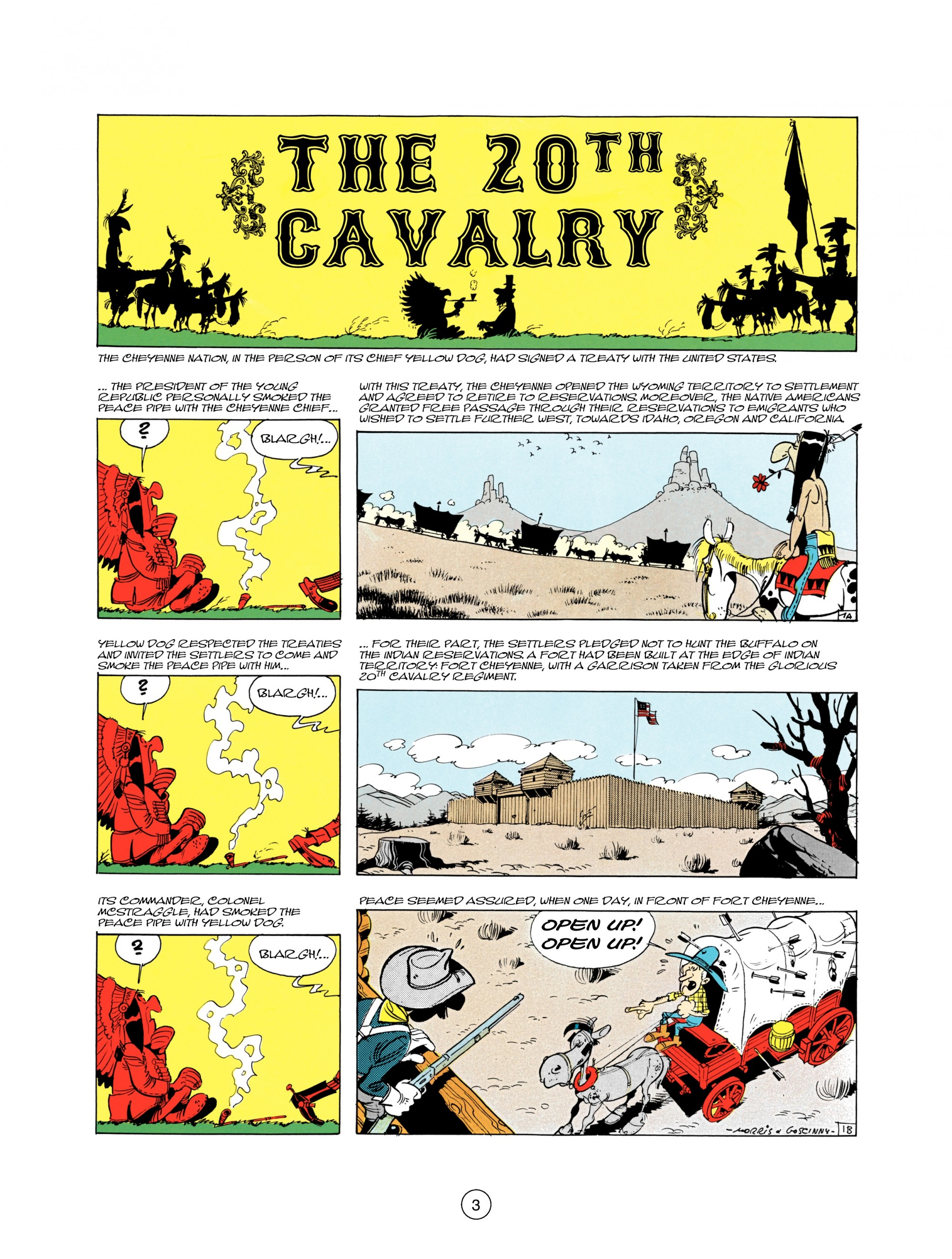 Read online A Lucky Luke Adventure comic -  Issue #21 - 3