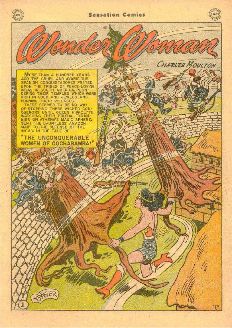 Read online Sensation (Mystery) Comics comic -  Issue #70 - 2