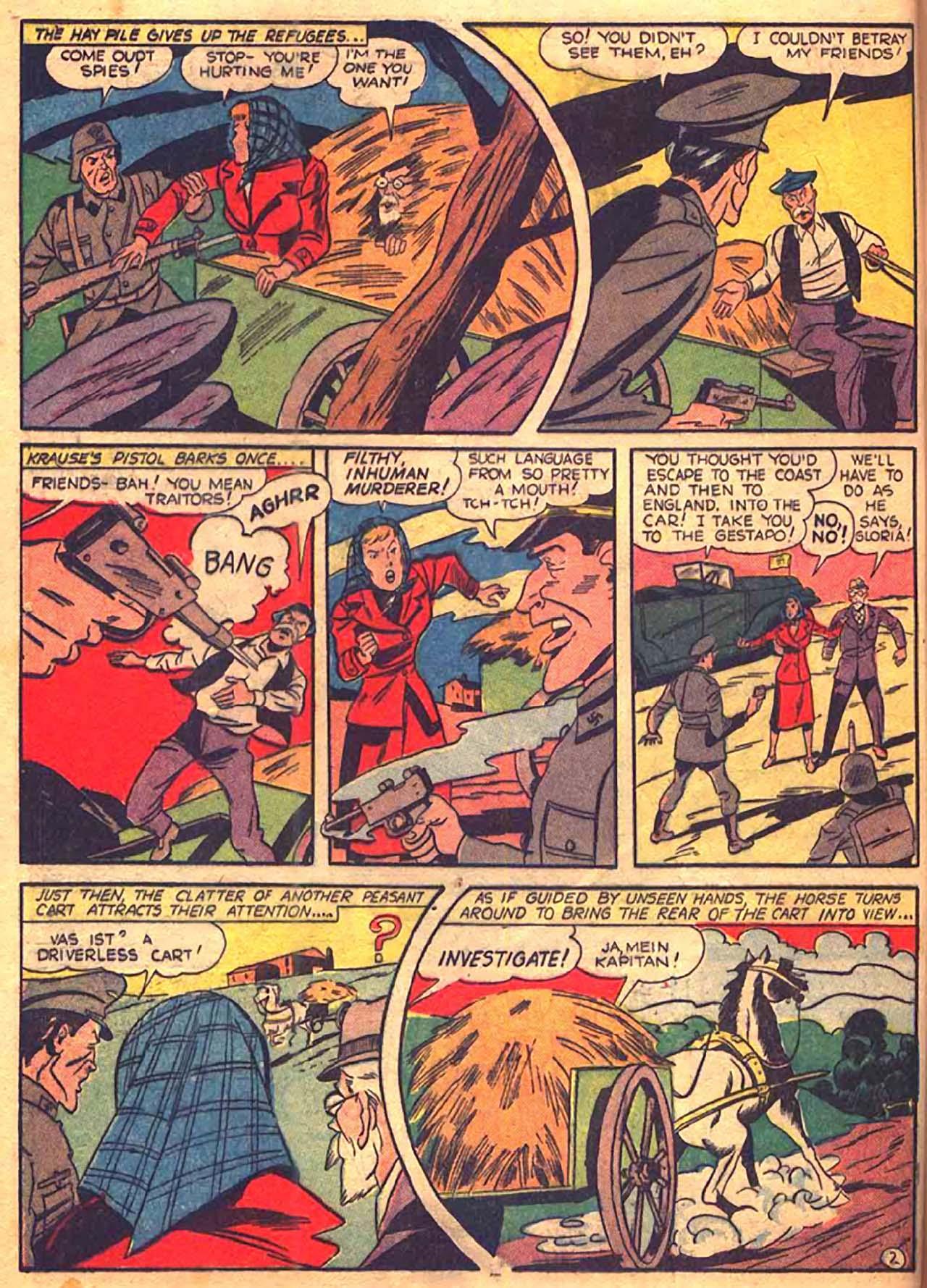 Read online All-Winners Comics comic -  Issue #9 - 41