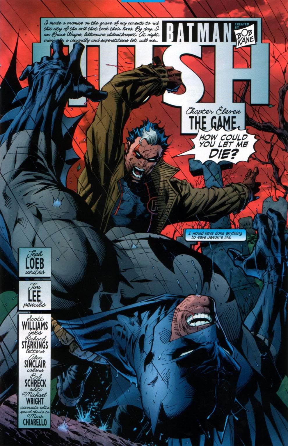 Read online Batman: Hush comic -  Issue #11 - 6