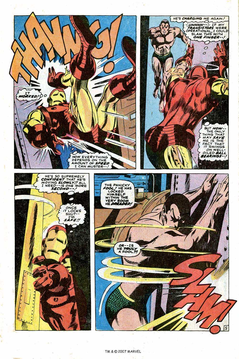 Iron Man Annual issue 1 - Page 40