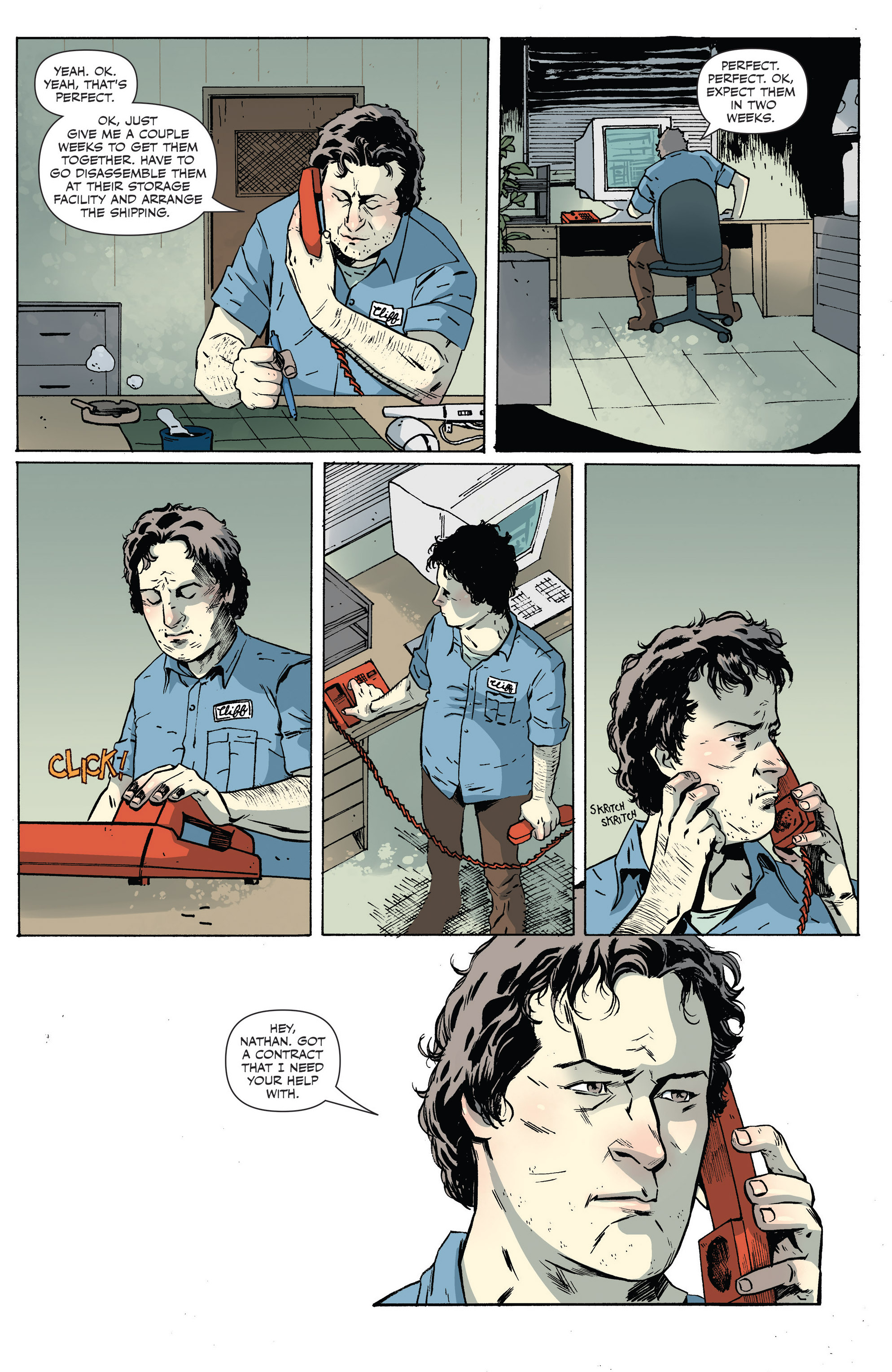 Read online Sheltered comic -  Issue #6 - 4
