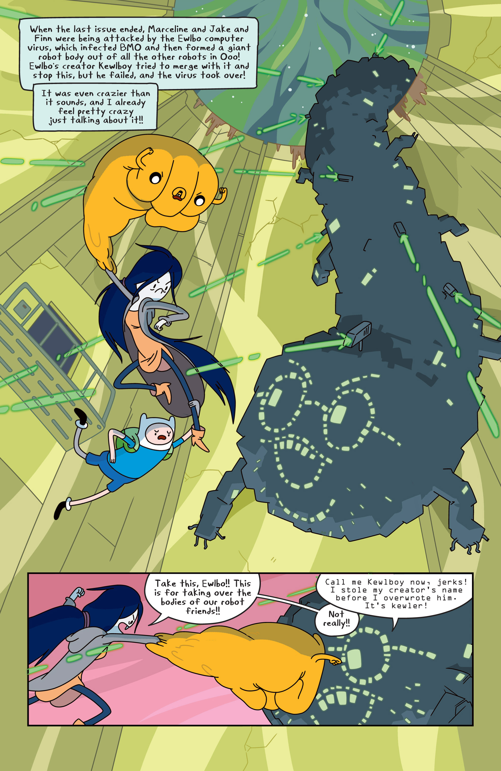 Read online Adventure Time comic -  Issue #14 - 4