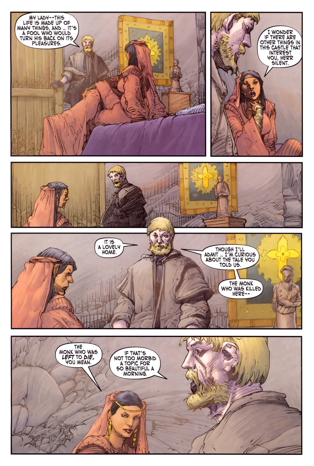 Read online Solomon Kane comic -  Issue #3 - 4