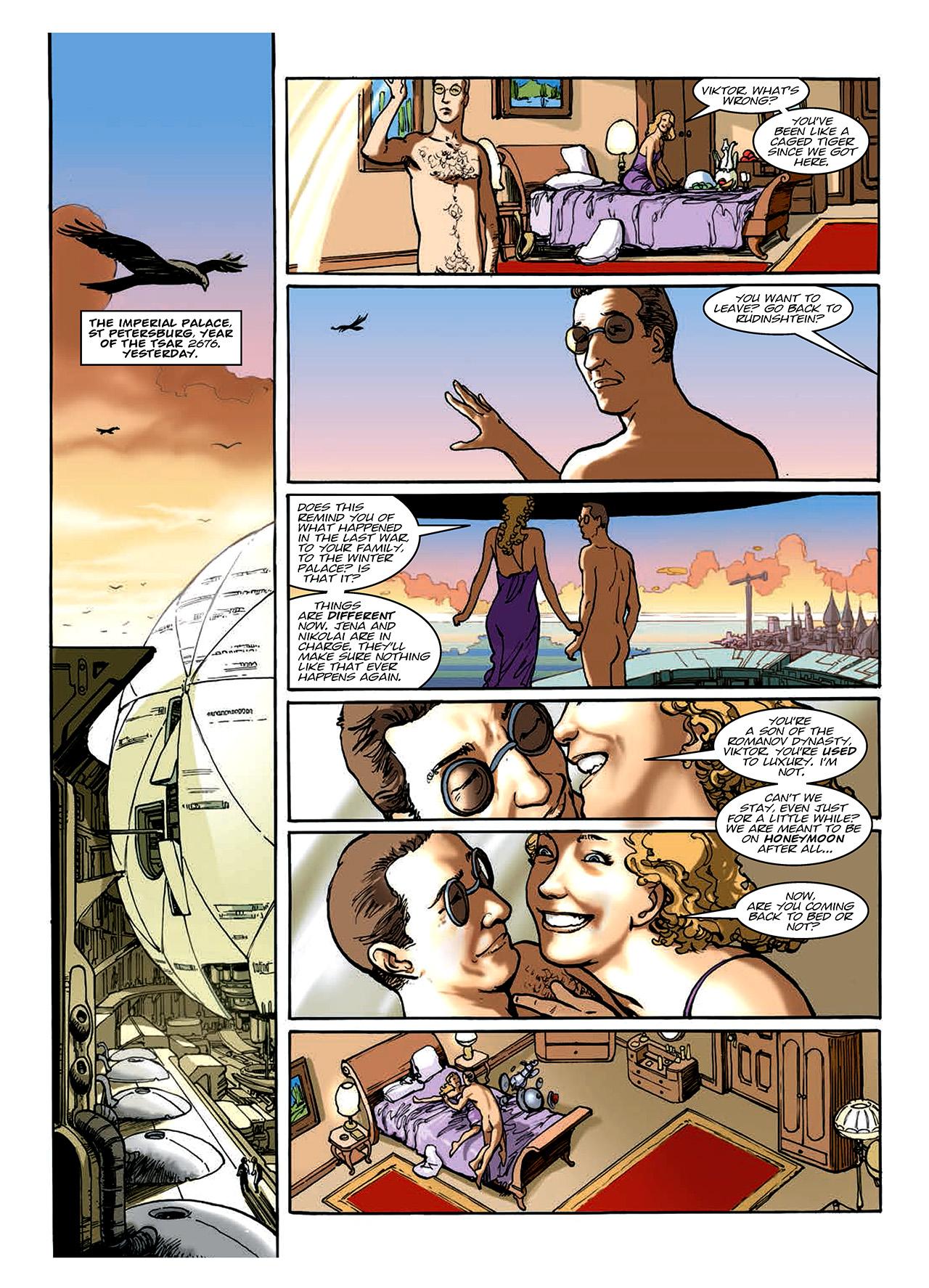 Read online Nikolai Dante comic -  Issue # TPB 10 - 99