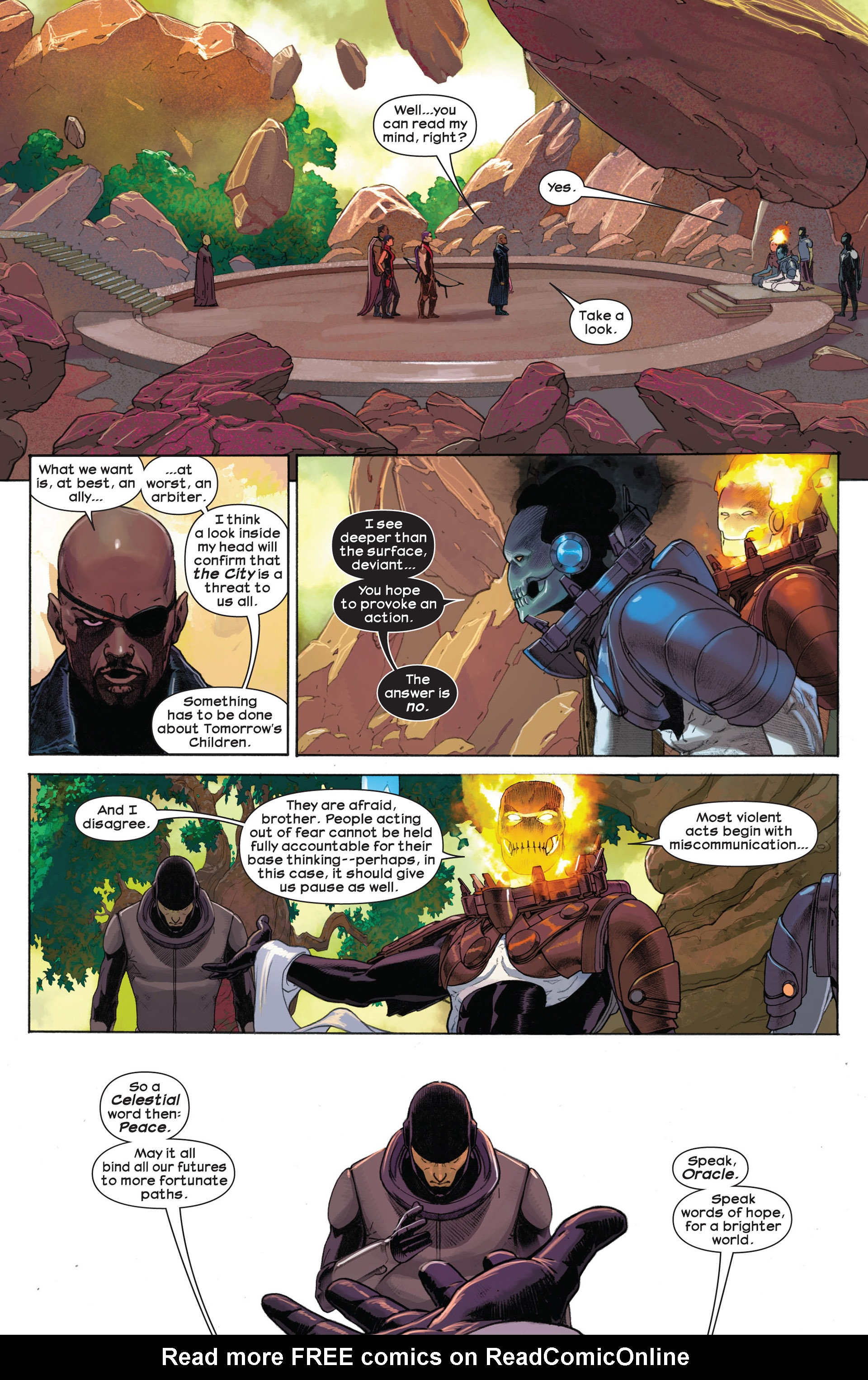 Read online Ultimate Comics Ultimates comic -  Issue #7 - 10