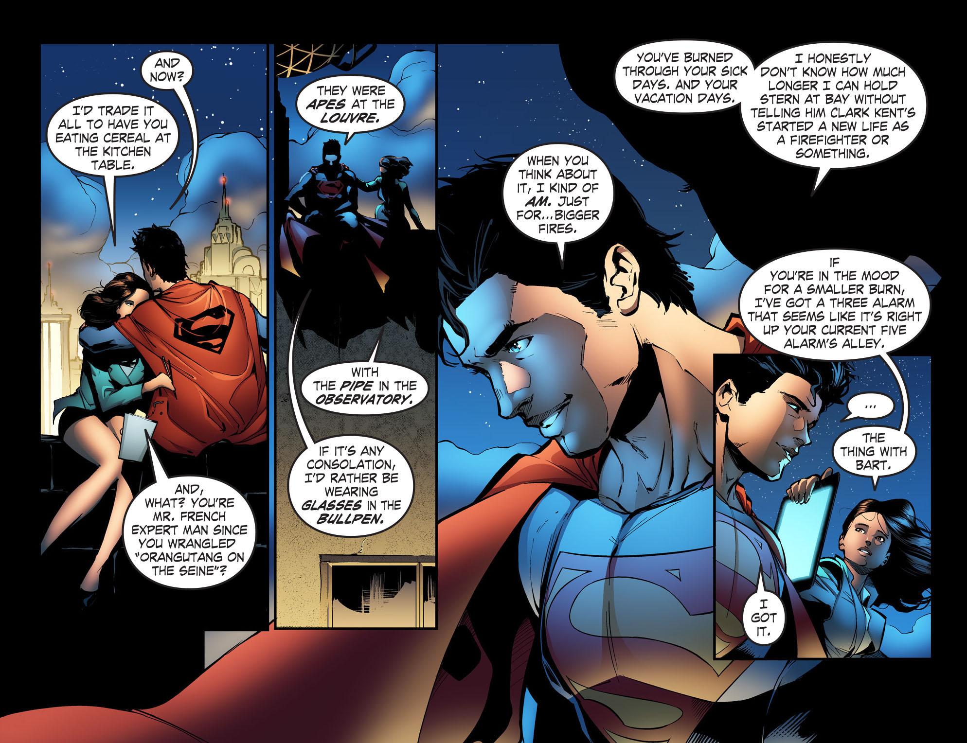Read online Smallville: Season 11 comic -  Issue #31 - 4