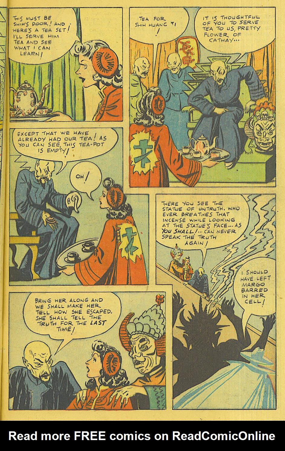 Read online Shadow Comics comic -  Issue #71 - 50