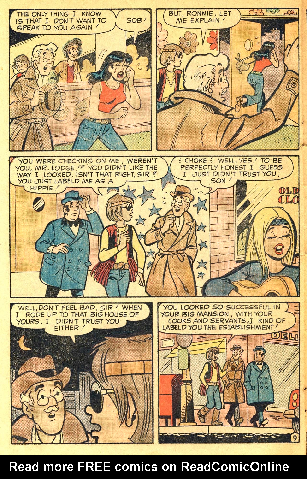 Read online Archie's Girls Betty and Veronica comic -  Issue #210 - 22