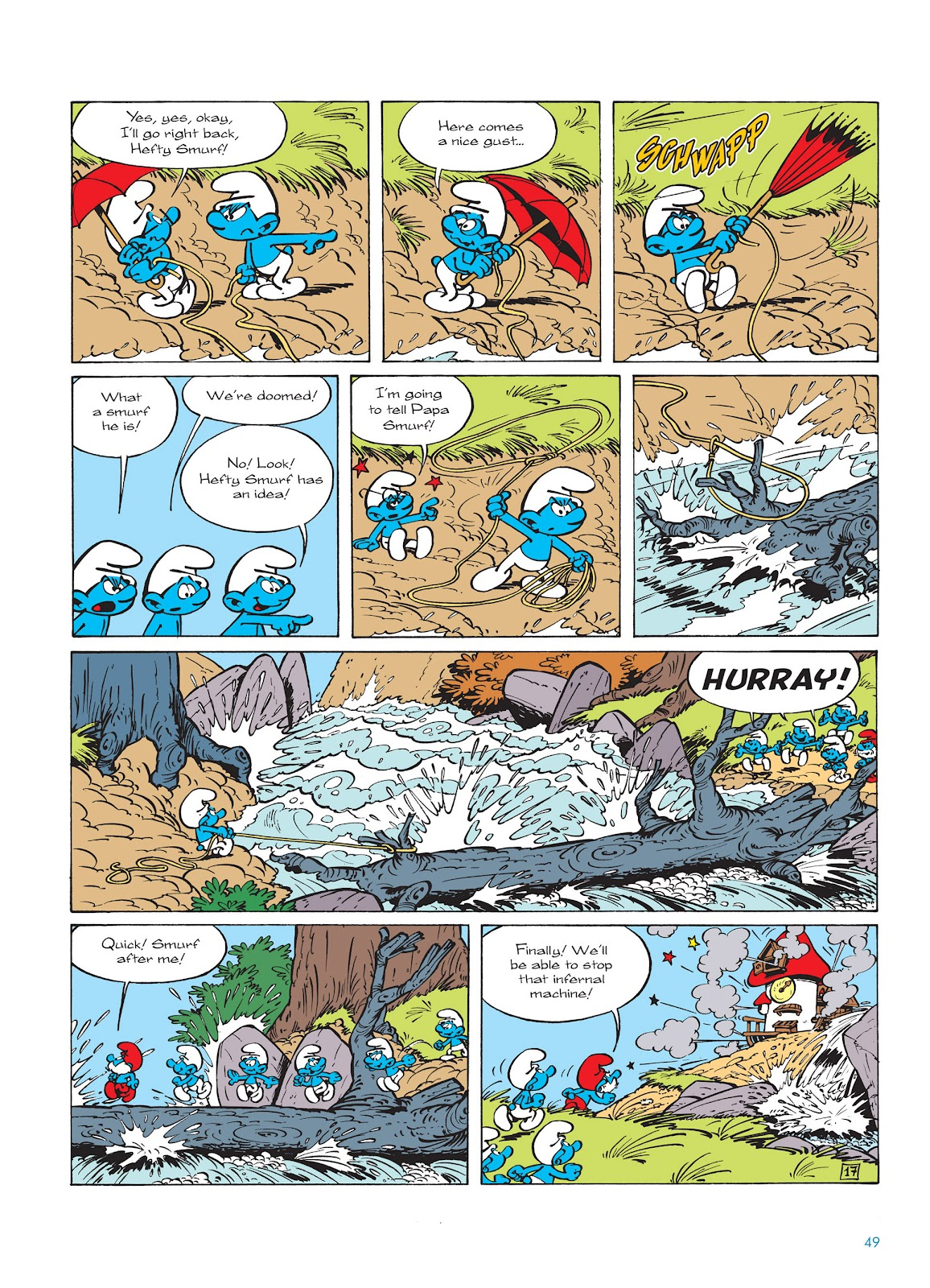 Read online The Smurfs comic -  Issue #14 - 50