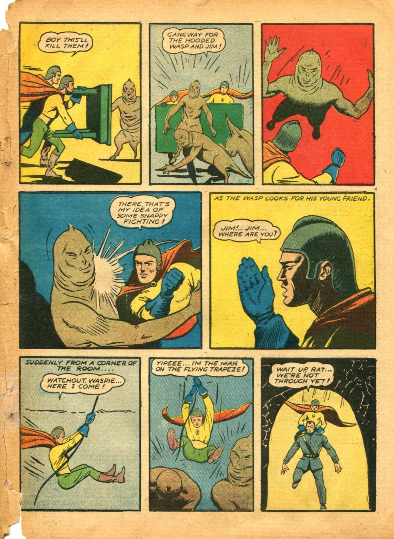 Read online Shadow Comics comic -  Issue #12 - 59