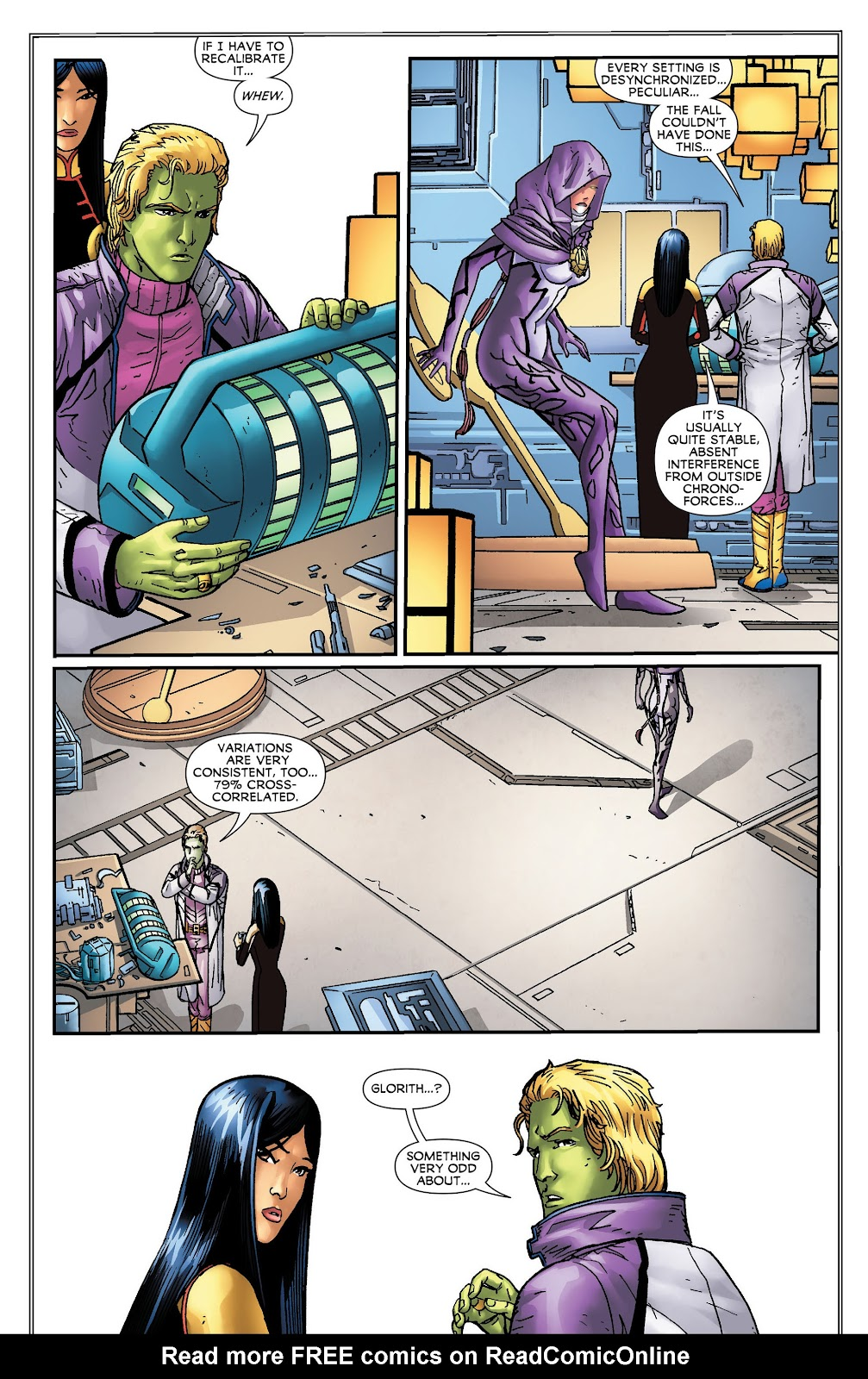 Legion of Super-Heroes (2011) Issue #16 #17 - English 14