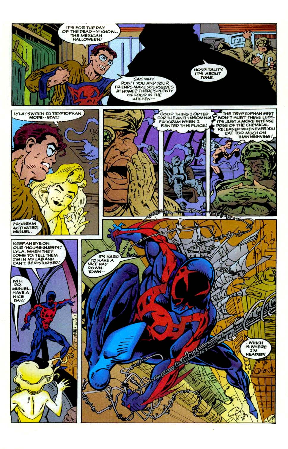 Read online 2099 Unlimited comic -  Issue #9 - 11