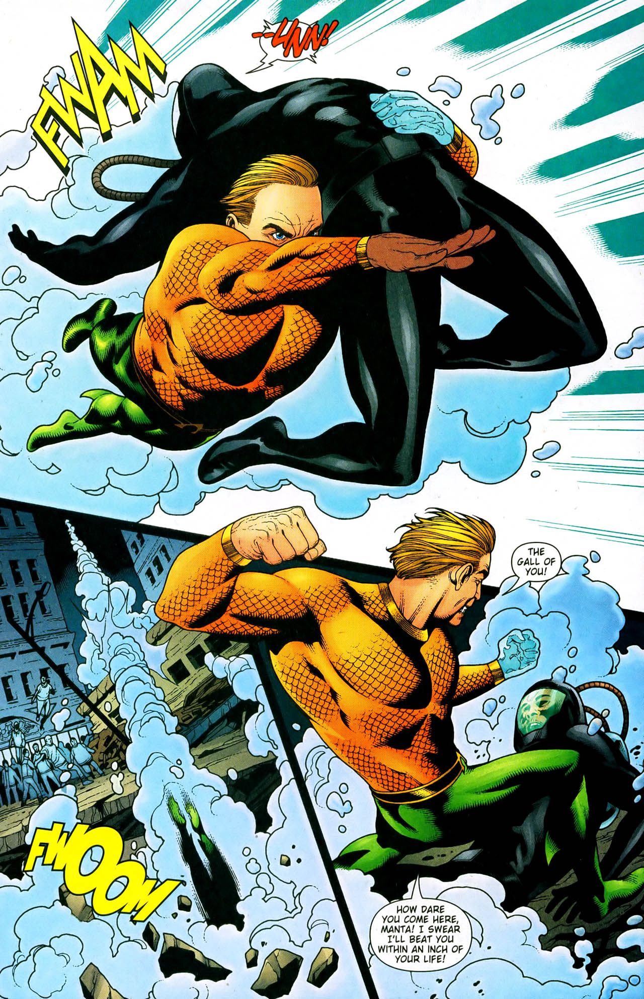 Read online Aquaman (2003) comic -  Issue #33 - 11