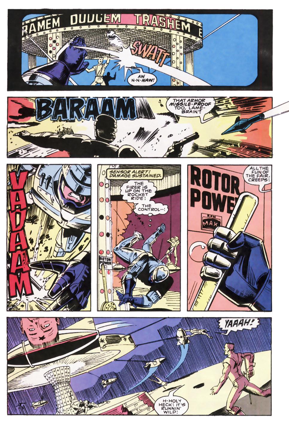Read online Robocop (1990) comic -  Issue #8 - 21