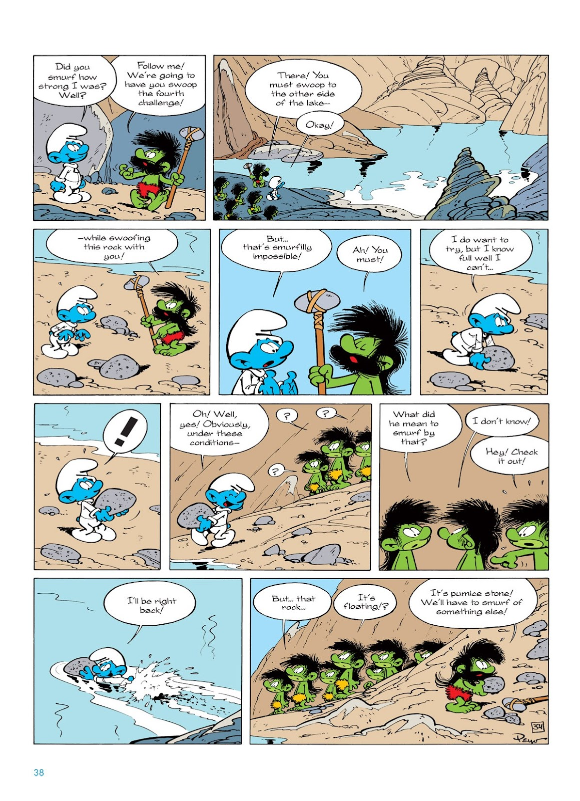 Read online The Smurfs comic -  Issue #7 - 38