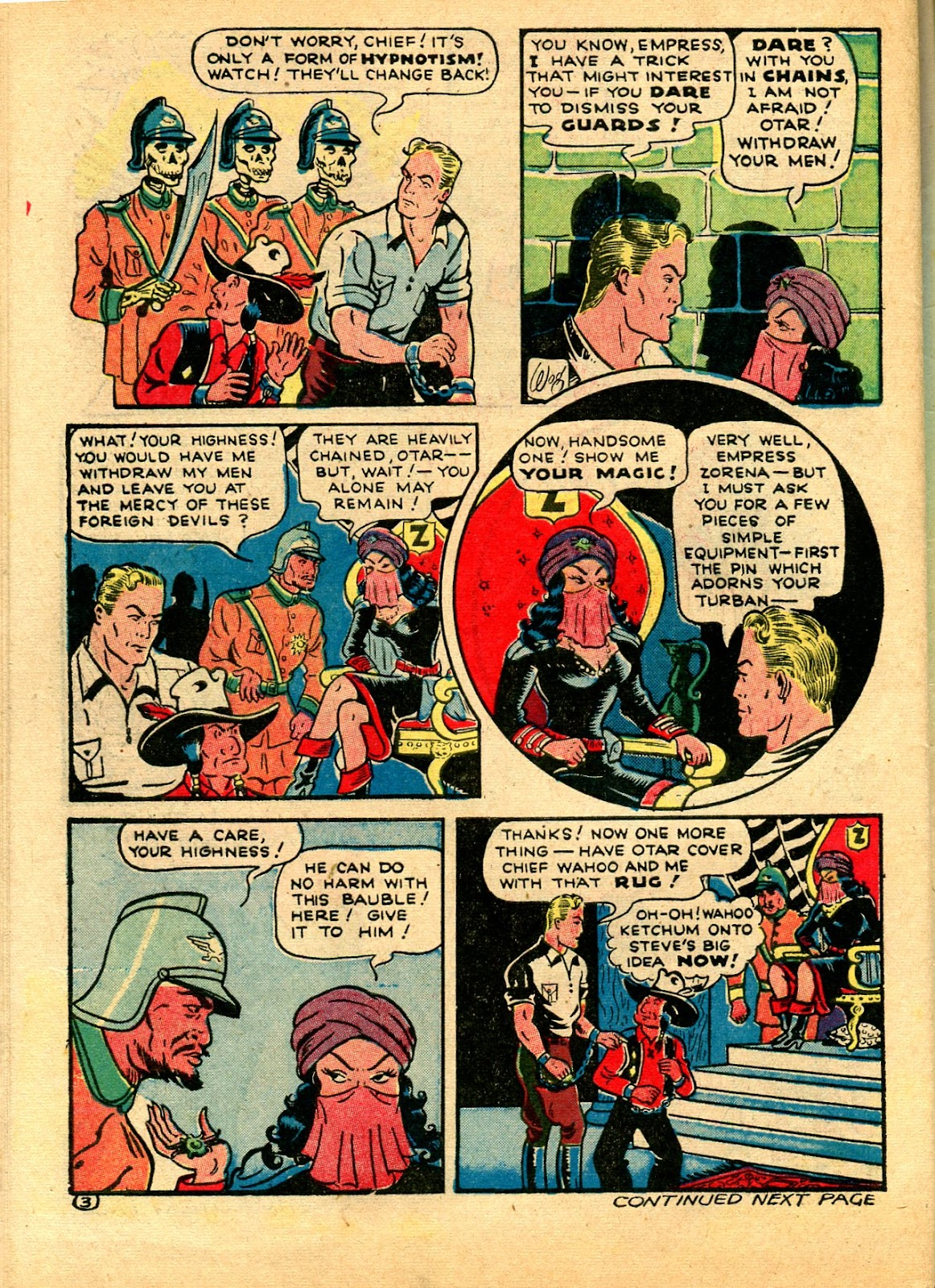 Read online Famous Funnies comic -  Issue #102 - 64