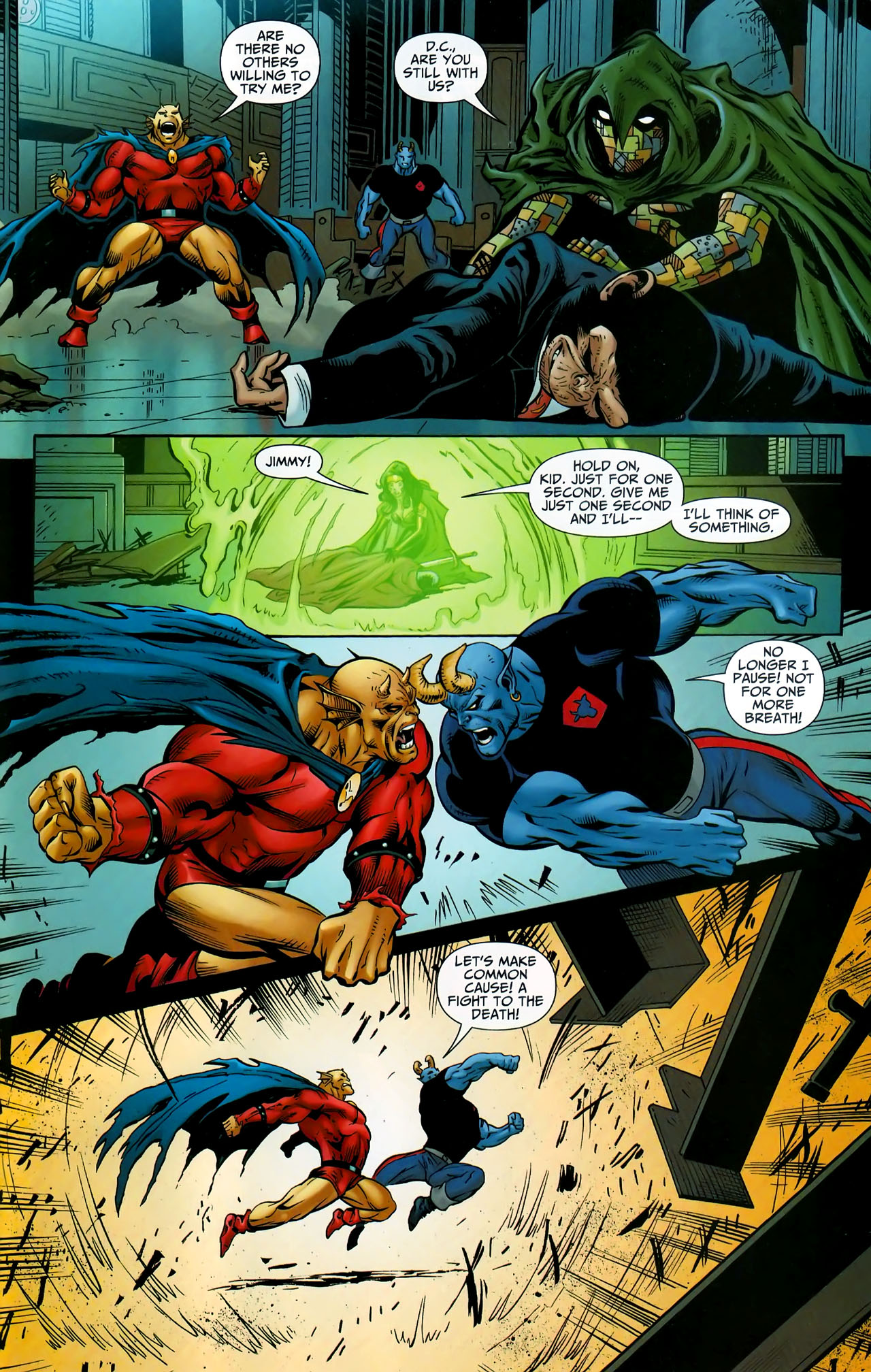 Read online Shadowpact comic -  Issue #9 - 17