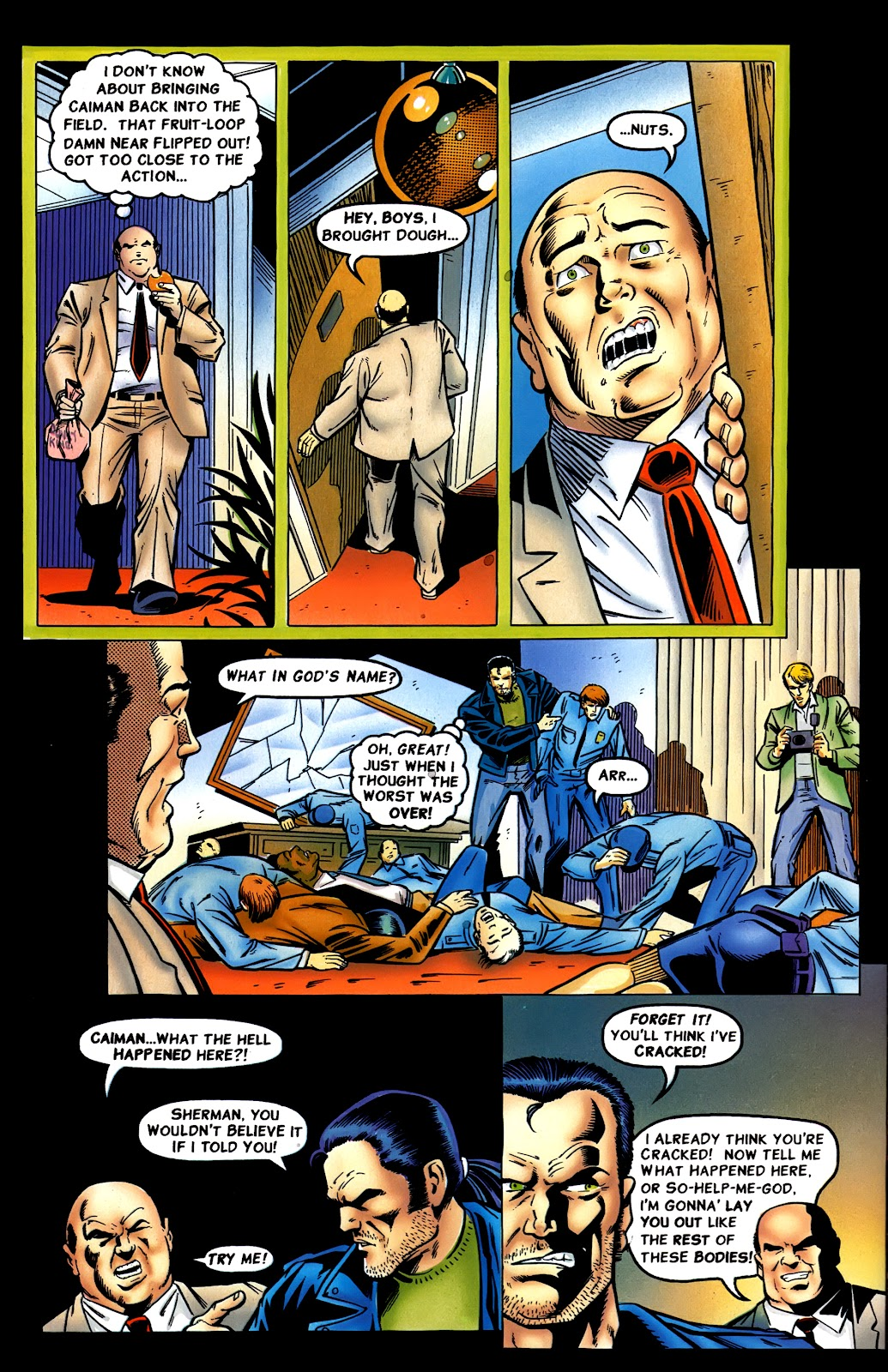 Read online Perg comic -  Issue #8 - 12