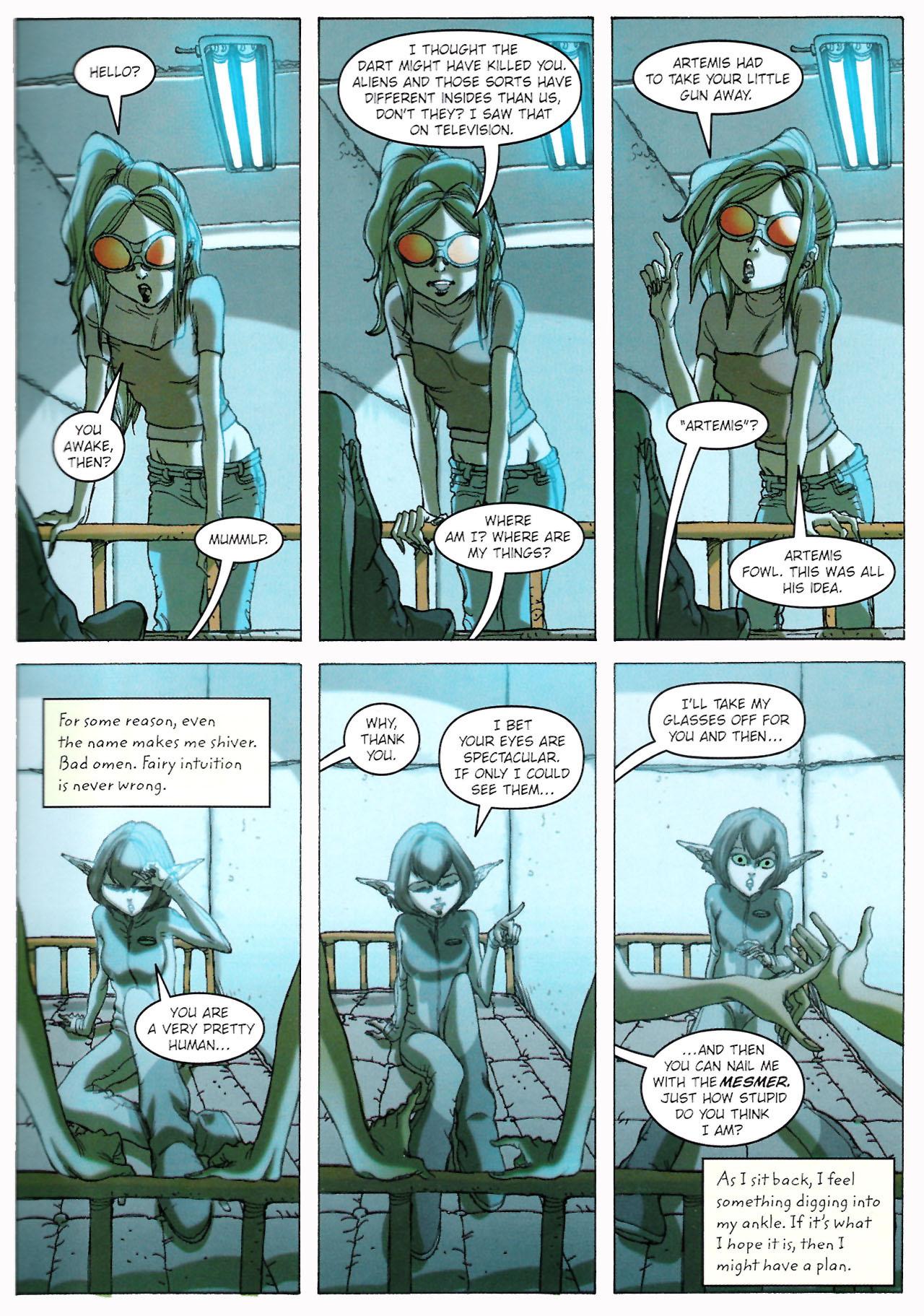 Read online Artemis Fowl: The Graphic Novel comic -  Issue #Artemis Fowl: The Graphic Novel Full - 42