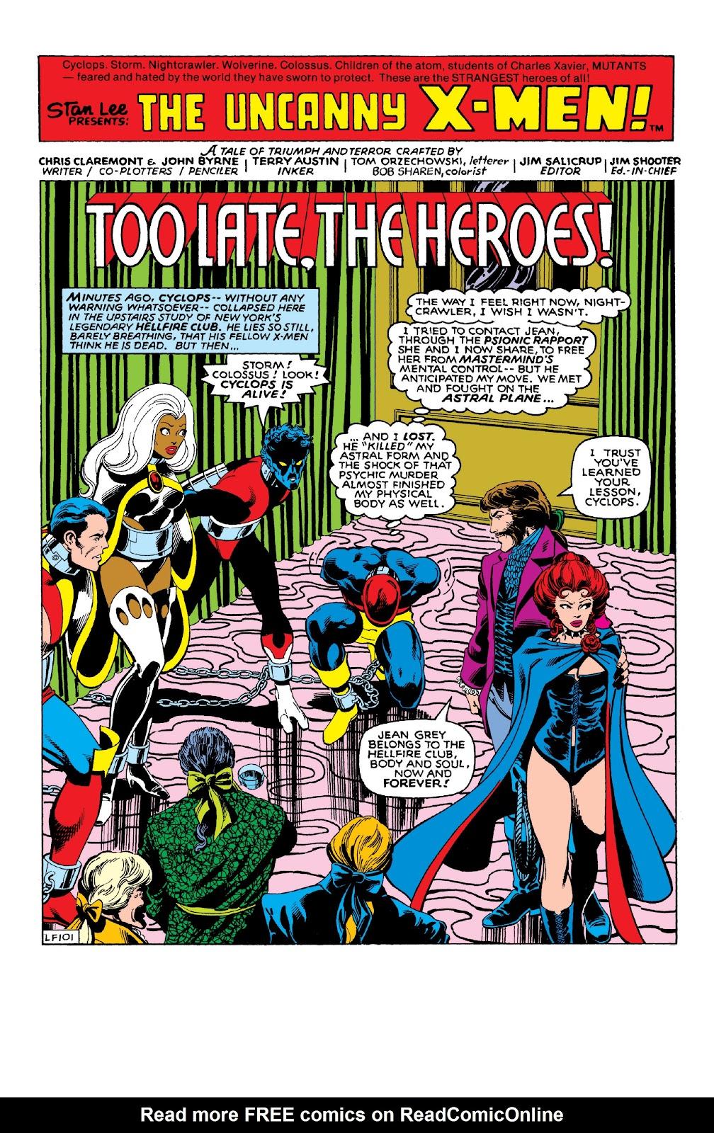 Read online X-Men Milestones: Dark Phoenix Saga comic -  Issue # TPB (Part 1) - 96