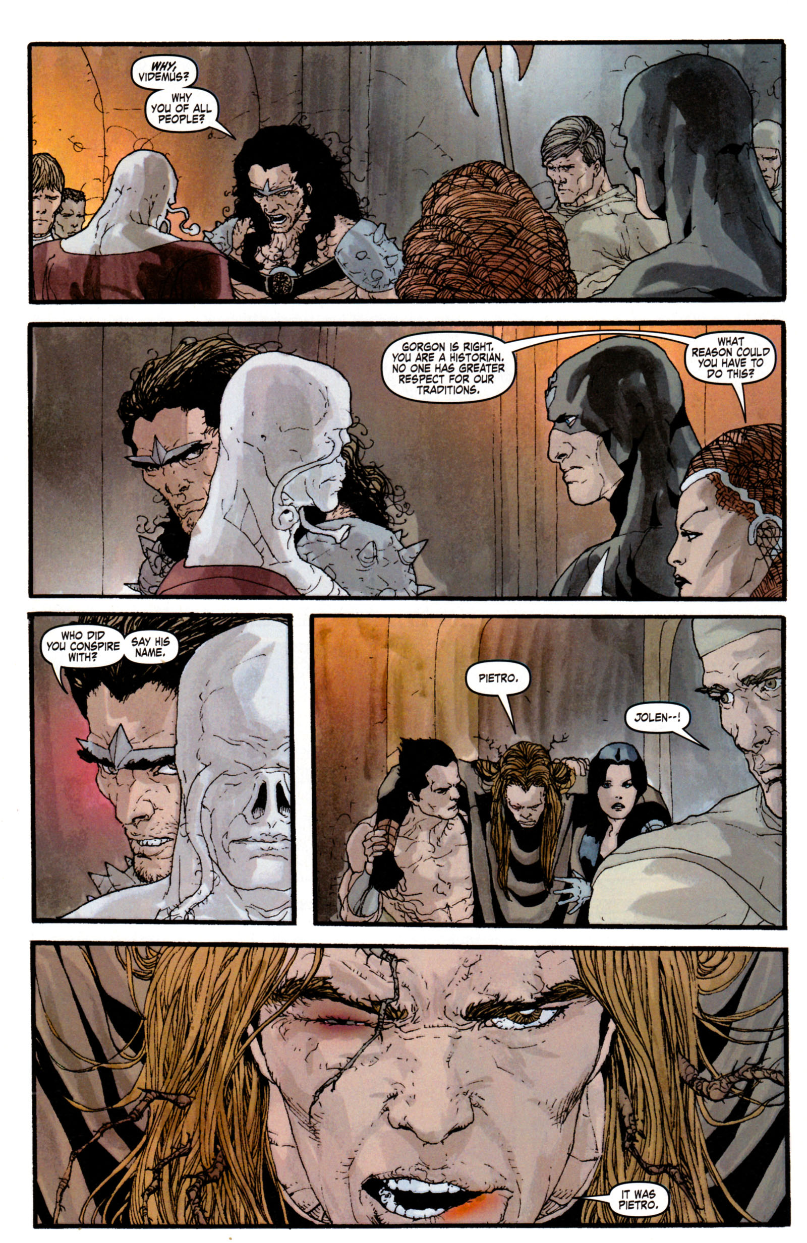 Read online Son of M comic -  Issue #4 - 29
