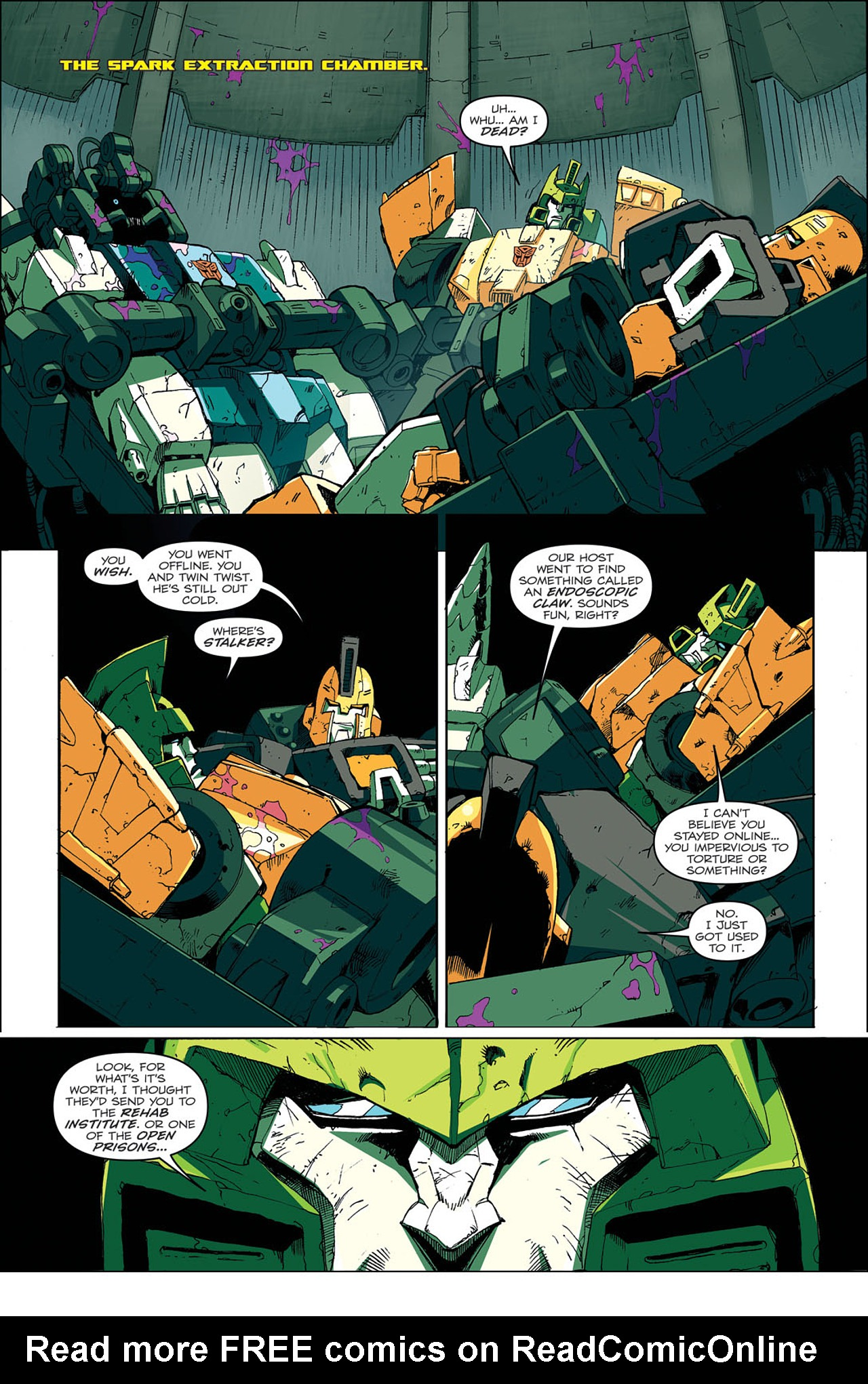 Read online Transformers: Last Stand of The Wreckers comic -  Issue #4 - 10