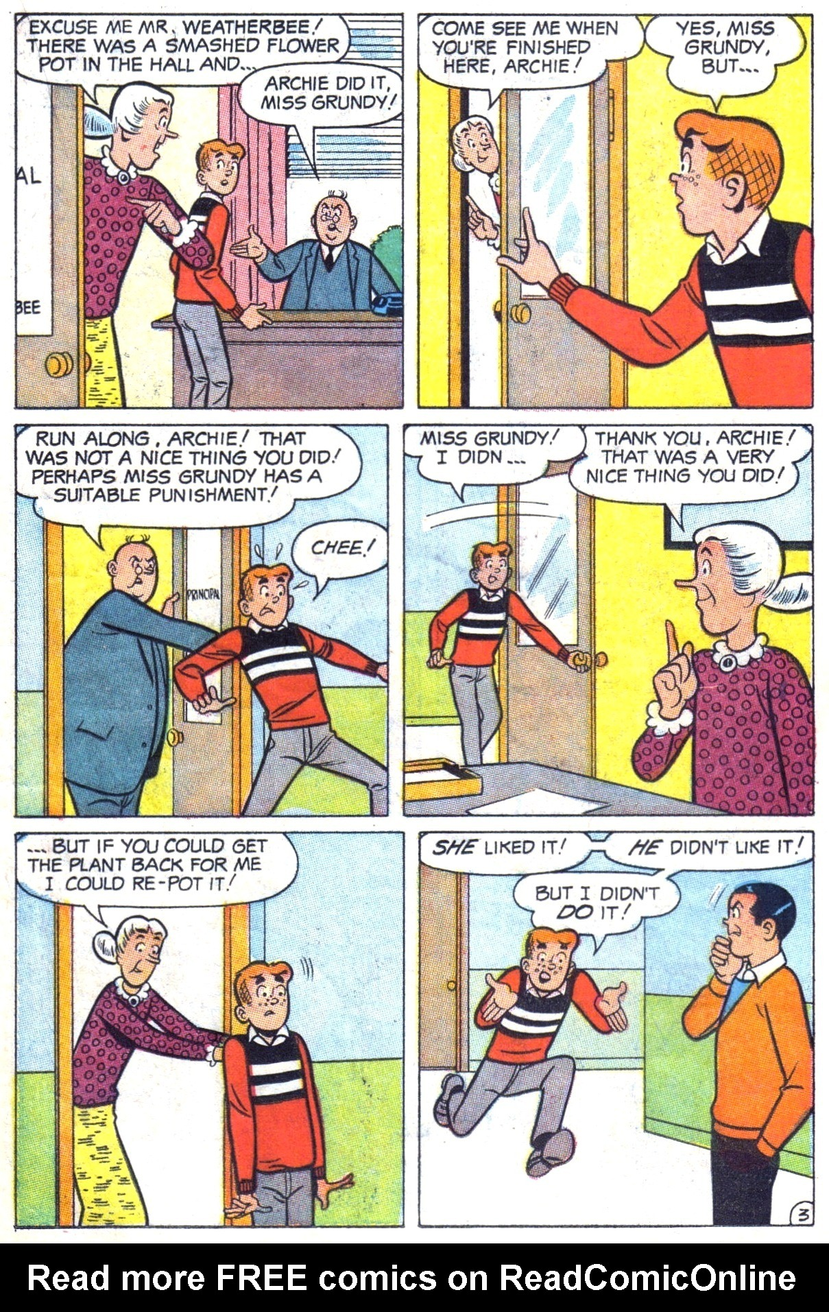 Read online Archie (1960) comic -  Issue #182 - 15