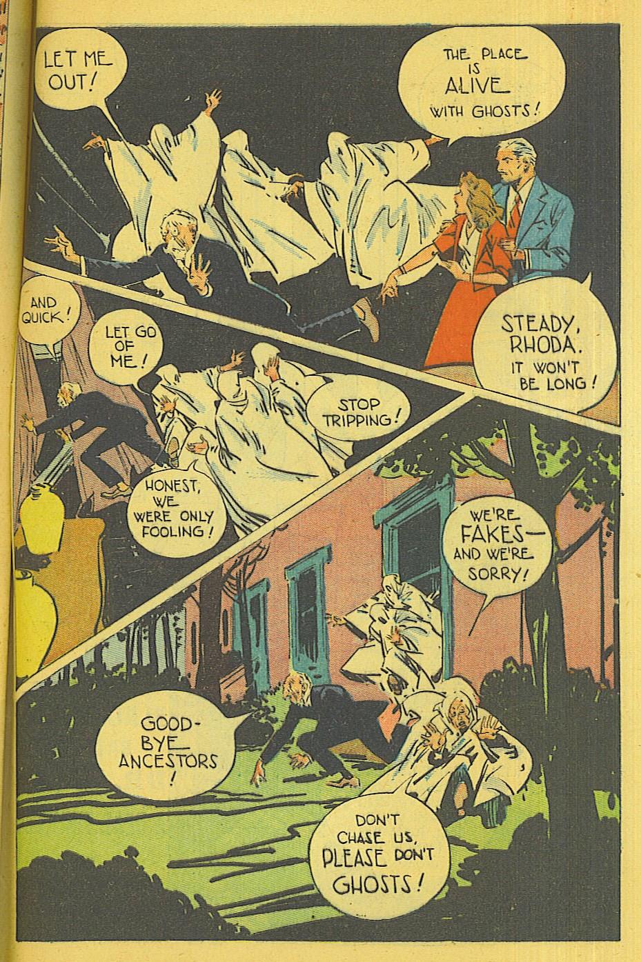Read online Super-Magician Comics comic -  Issue #39 - 48