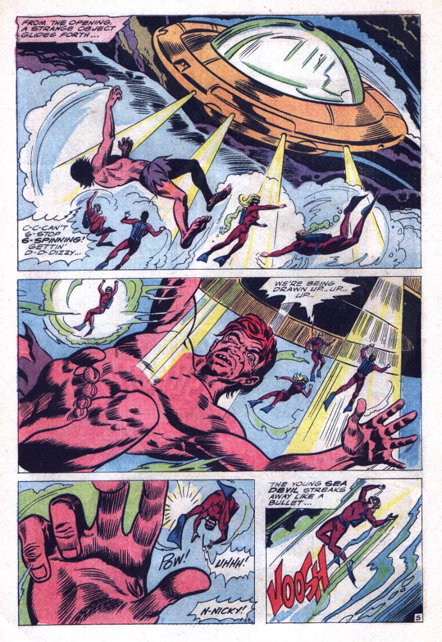 Read online Sea Devils comic -  Issue #29 - 9