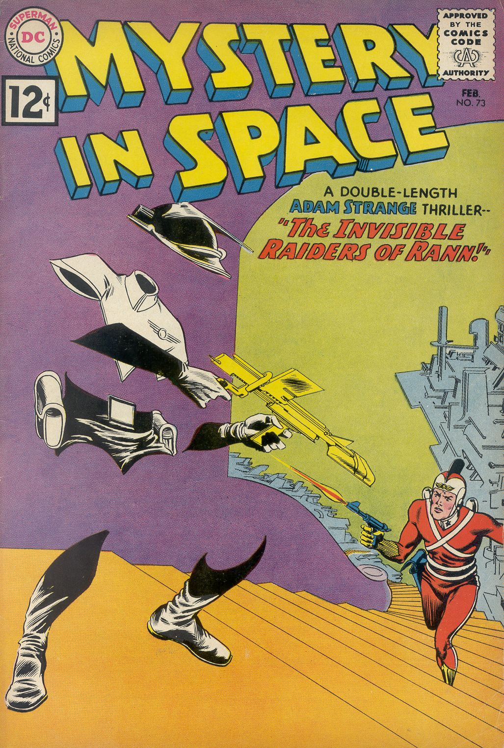 Mystery in Space (1951) issue 73 - Page 1