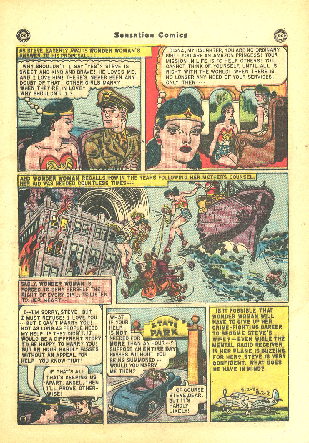 Read online Sensation (Mystery) Comics comic -  Issue #94 - 7